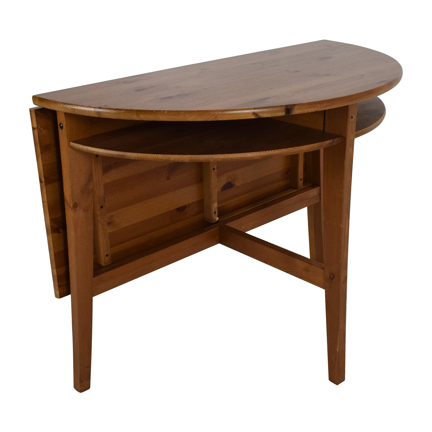 Foldable Wooden Kitchen Table second hand