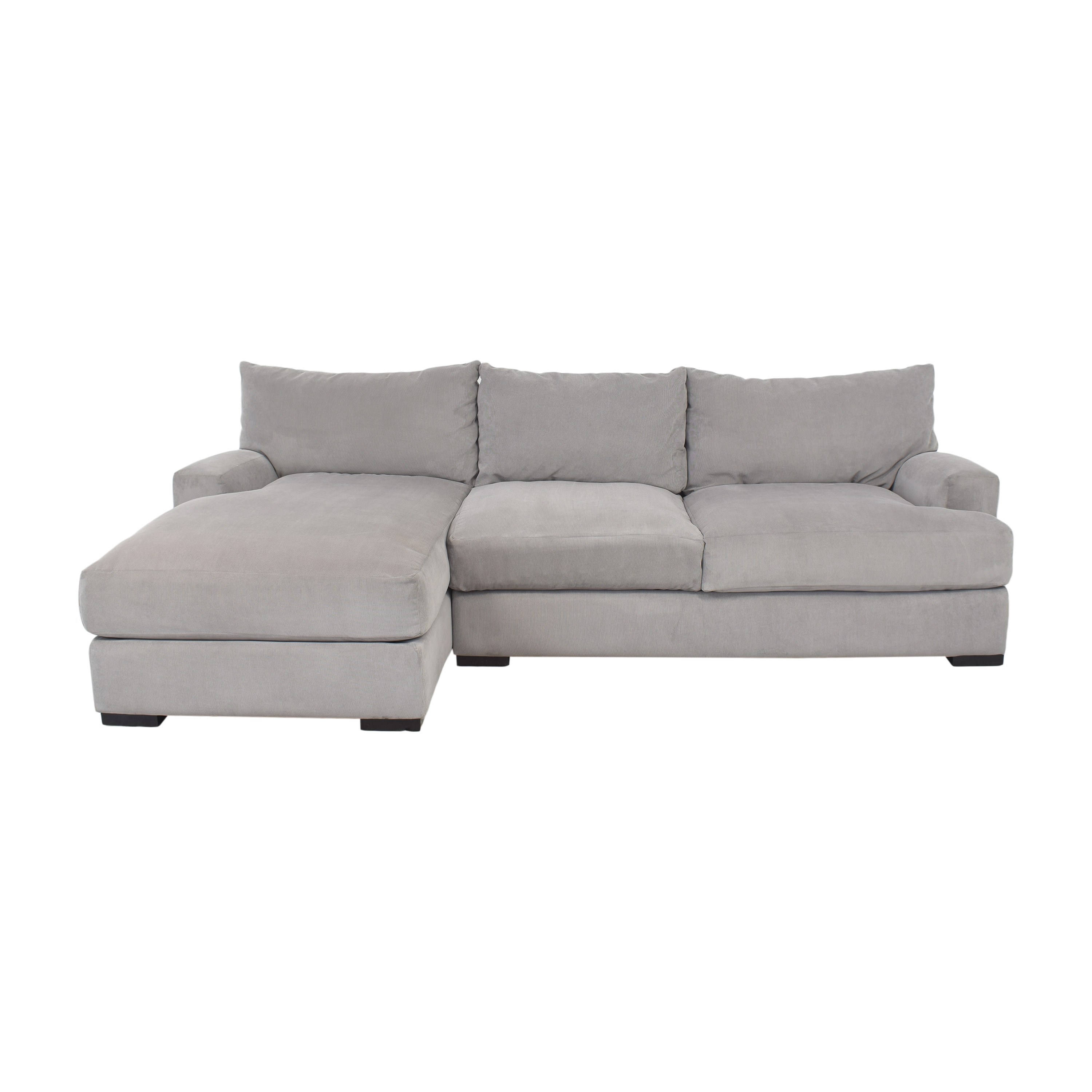 Macy's Macy's Rhyder Chaise Sectional Sofa ct