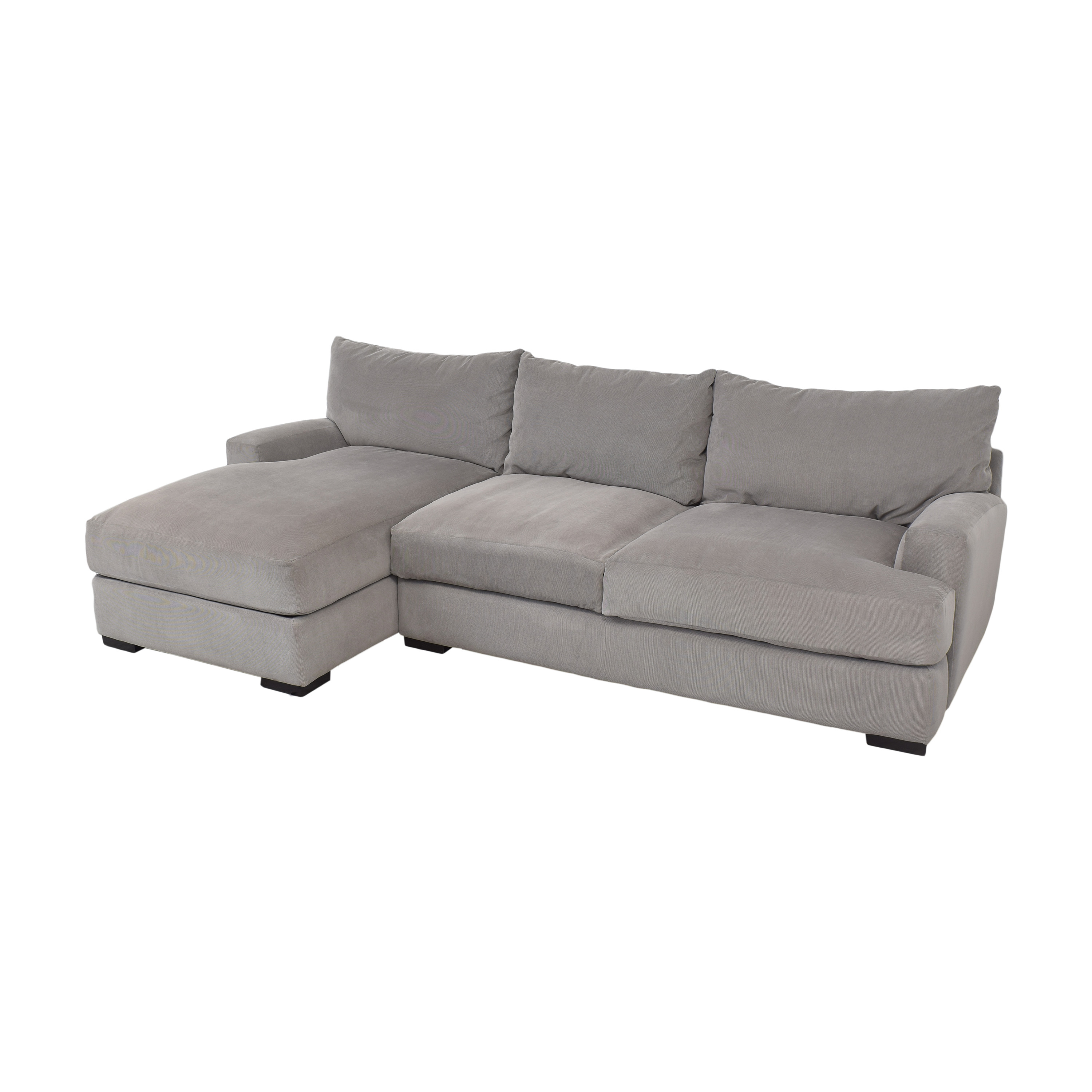 buy Macy's Rhyder Chaise Sectional Sofa Macy's Sectionals