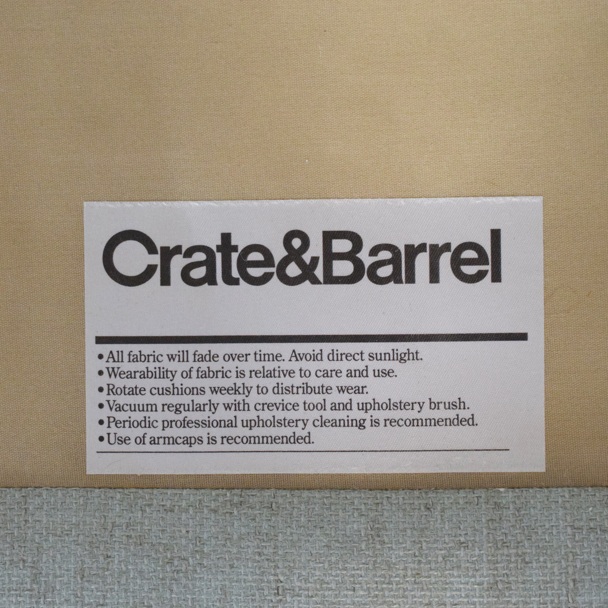 Crate & Barrel Crate & Barrel Slipcovered Accent Chair price