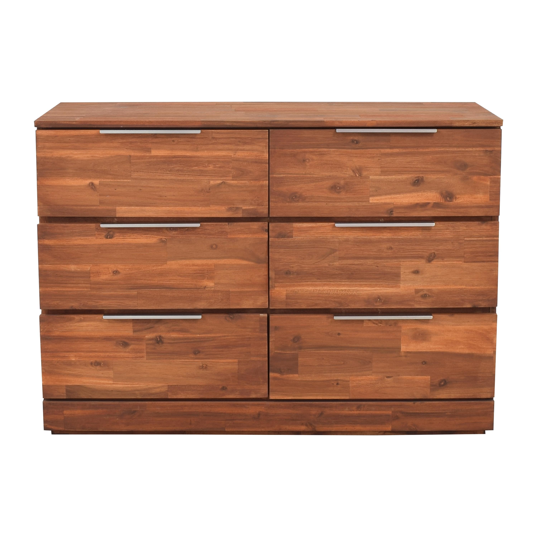 Carbon Loft Carbon Loft Six Drawer Contemporary Dresser coupon