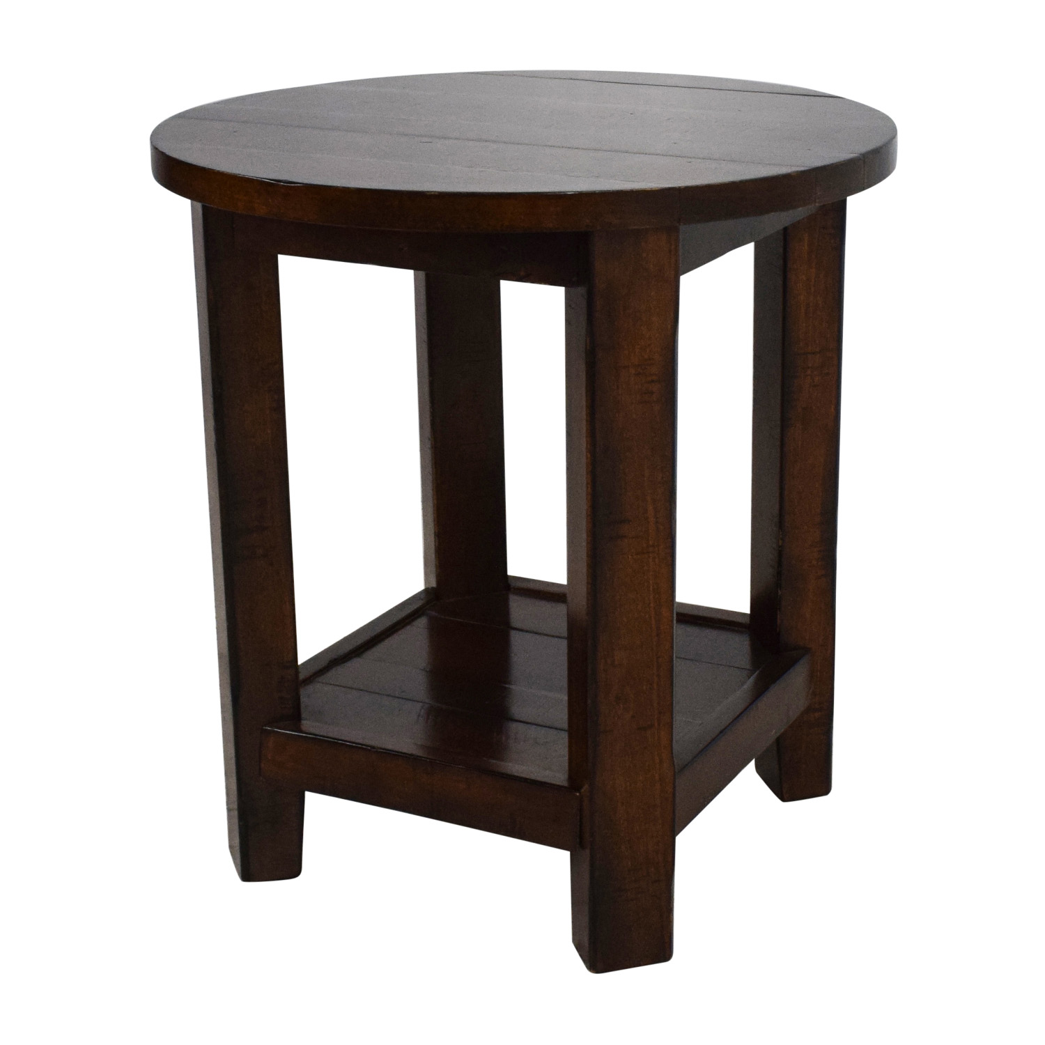 Pottery Barn Wood Table: Pottery Barn Pottery Barn Wooden Side Table / Tables