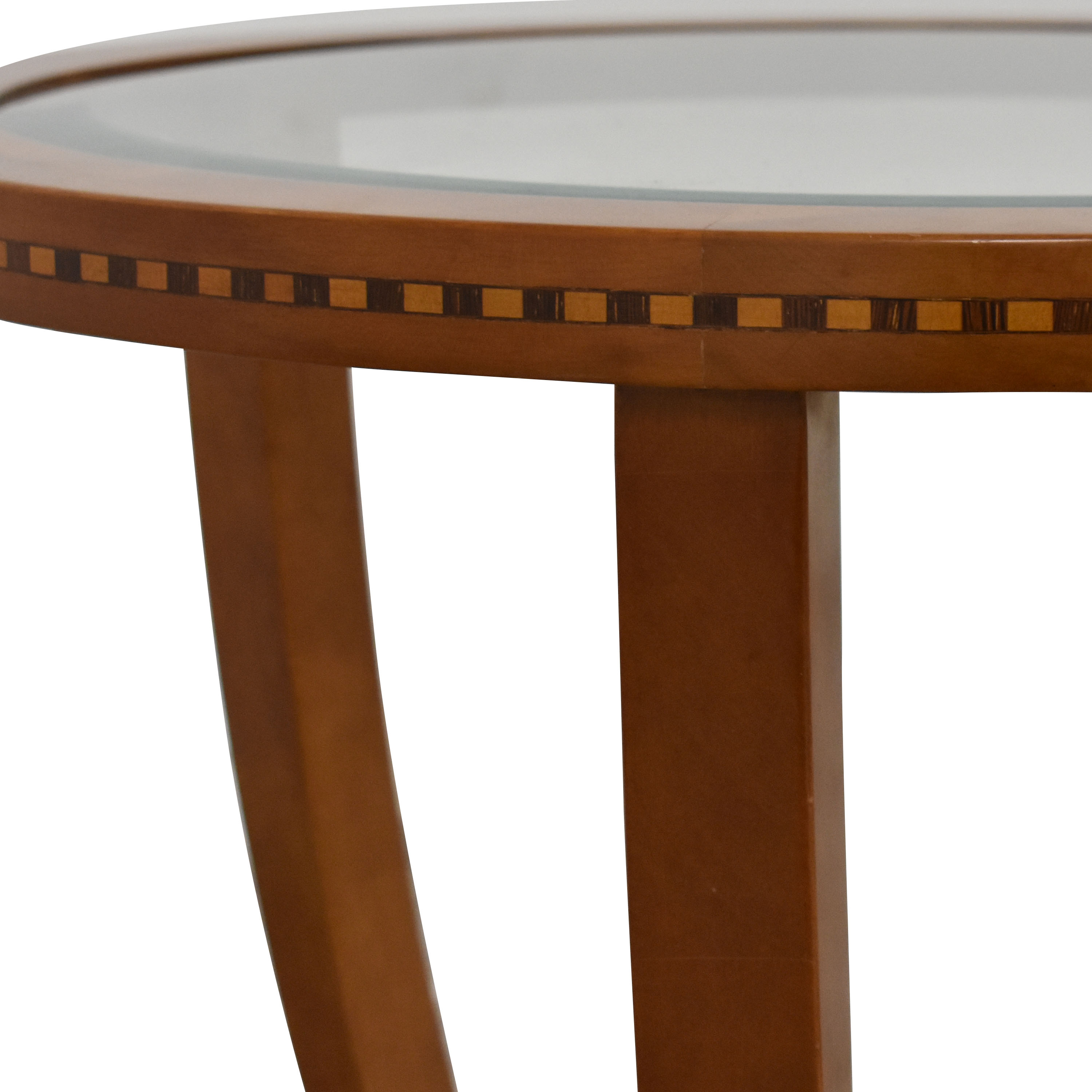 Jasper Side Table with Transparent Surface pa