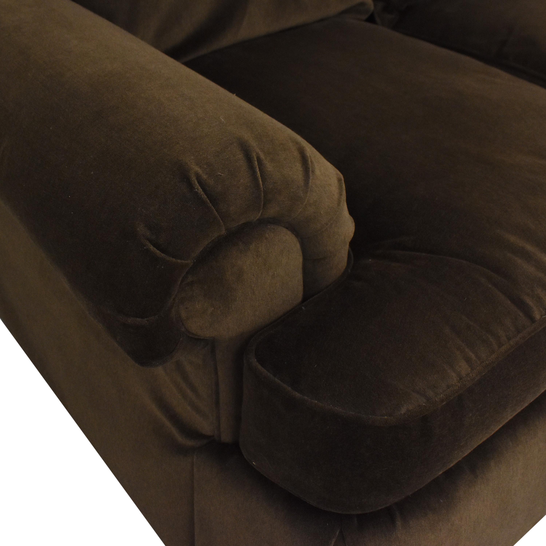 shop Thomasville Thomasville Roll Arm Skirted Sofa online