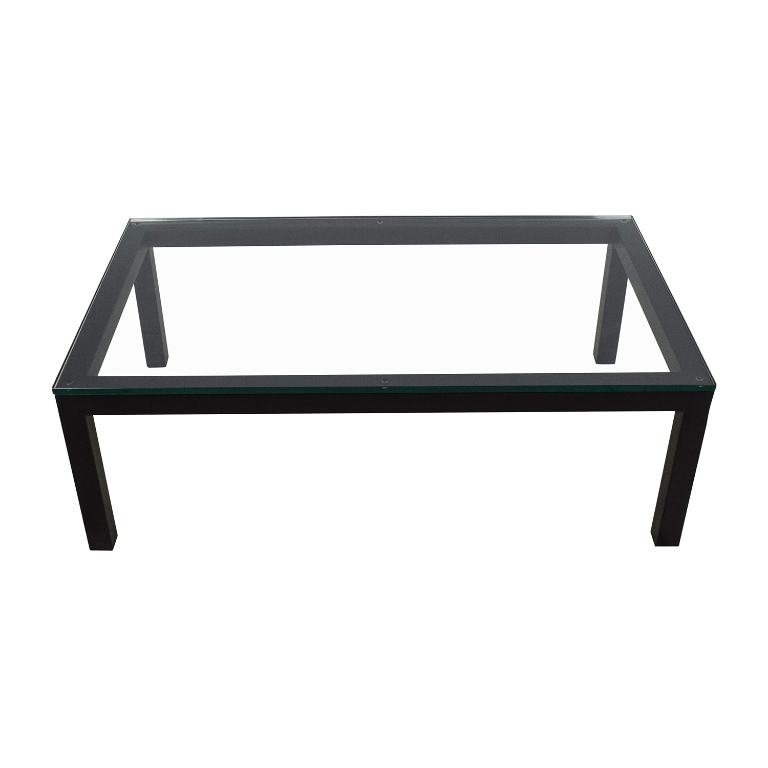 ... Buy Crate And Barrel Crate U0026 Barrel Parsons Coffee Table Online ...