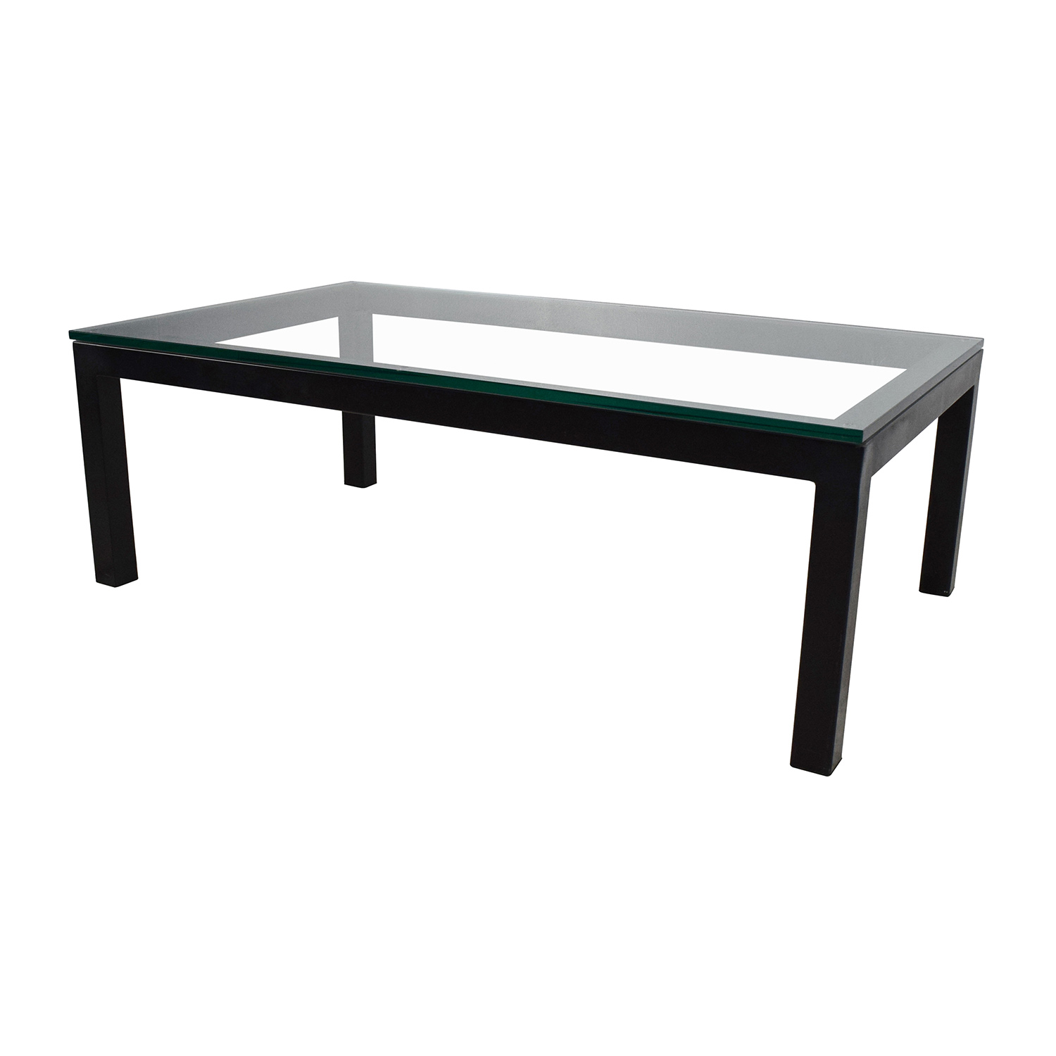 65 Off Crate And Barrel Crate Barrel Parsons Coffee Table Tables