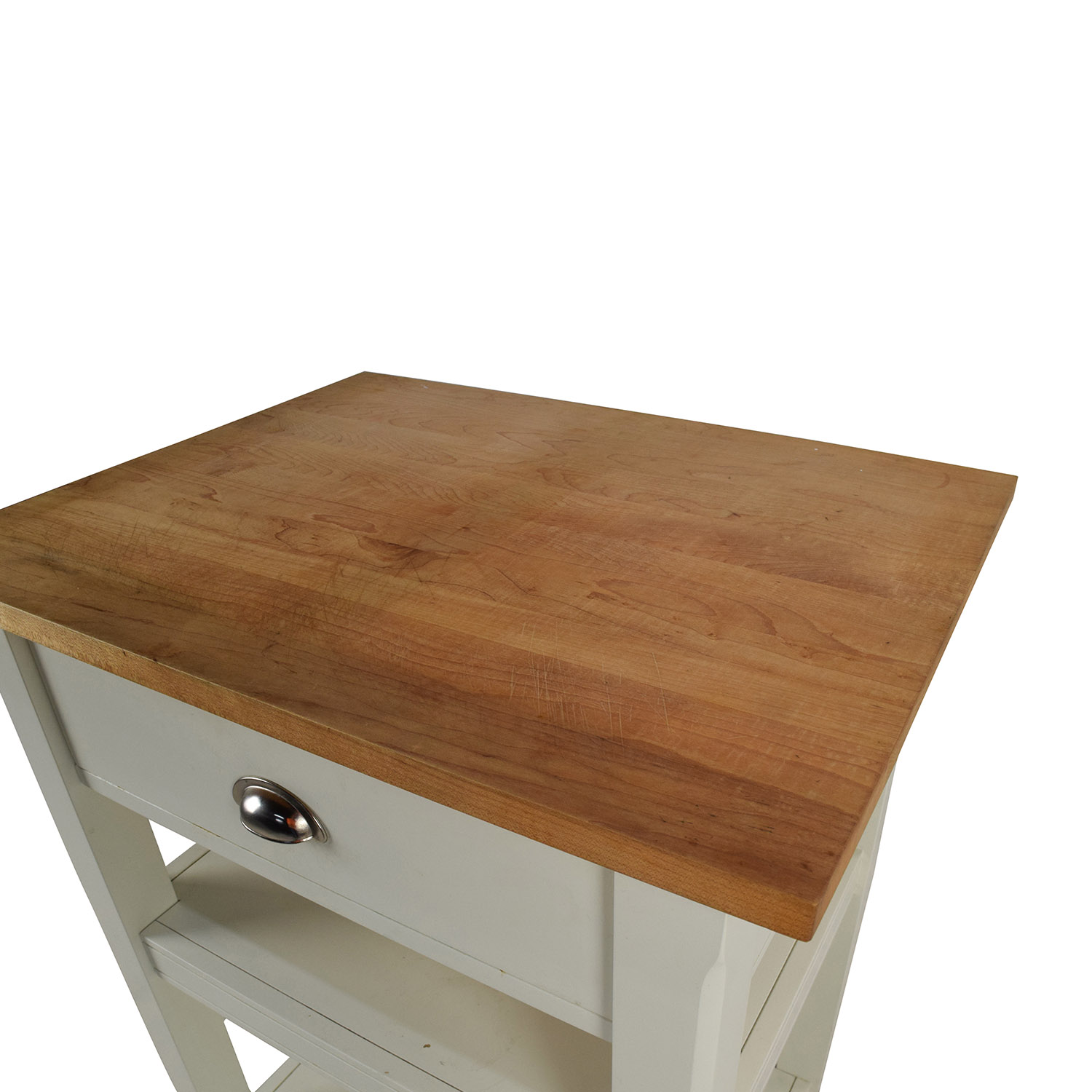 Rolling Kitchen Cart with Cutting Board discount