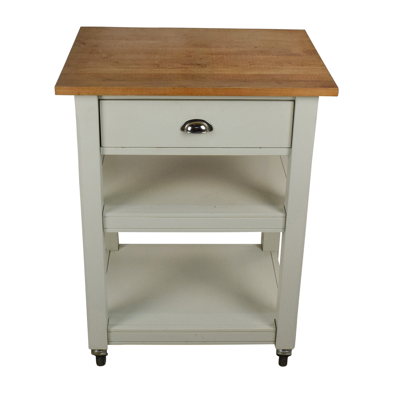 buy Rolling Kitchen Cart with Cutting Board Utility Tables