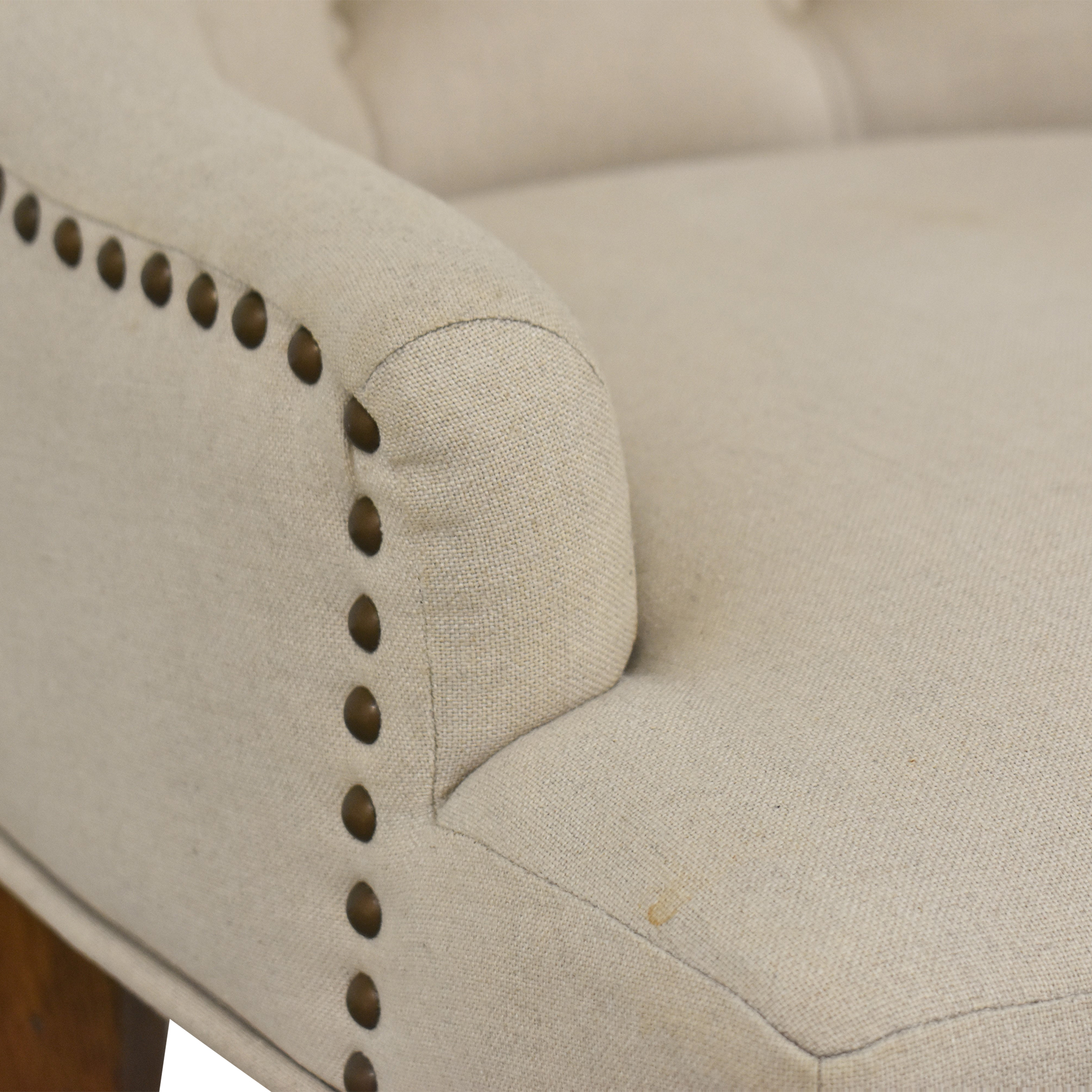 61 Off Pottery Barn Pottery Barn Lorraine Upholstered