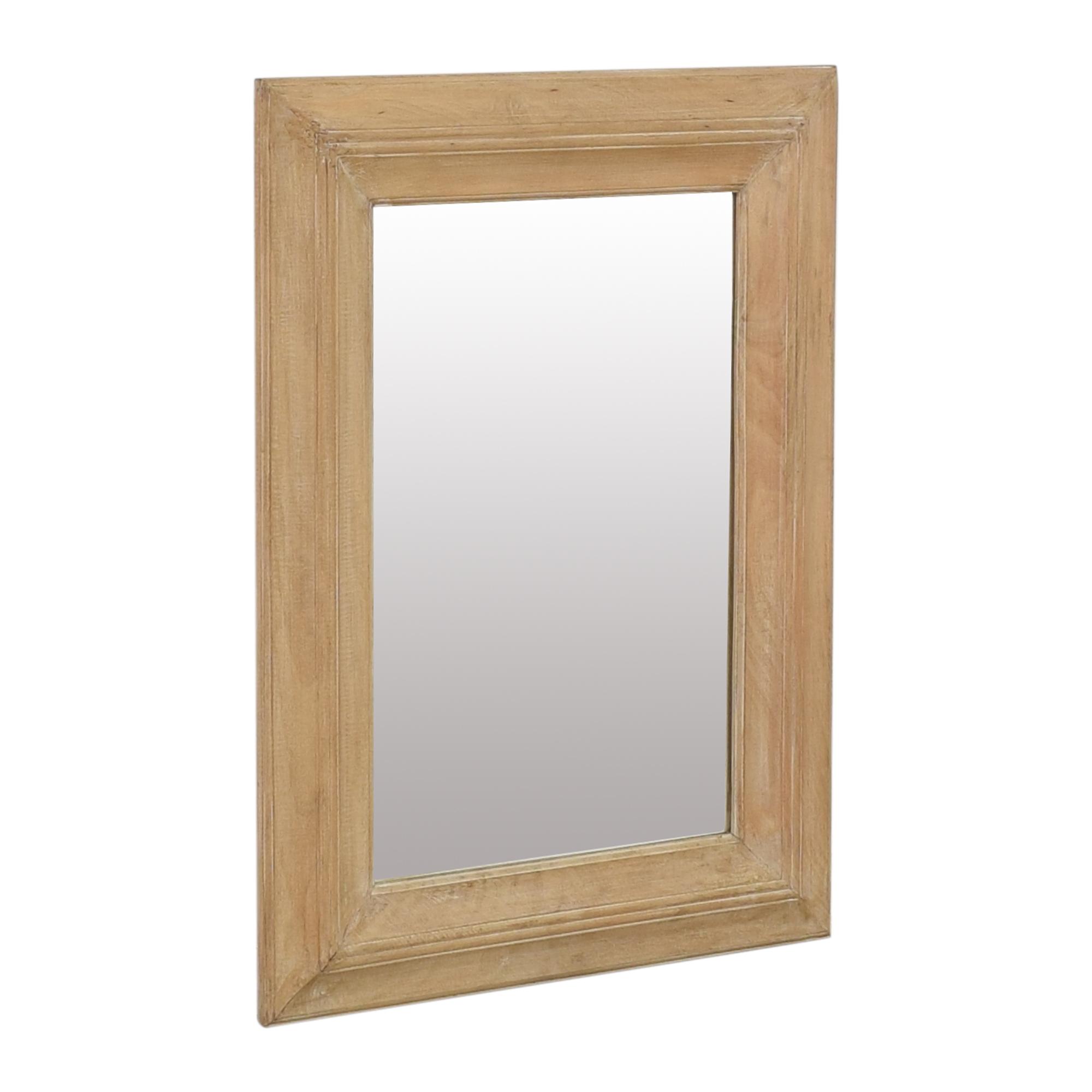Pottery Barn Pottery Barn Framed Wall Mirror used