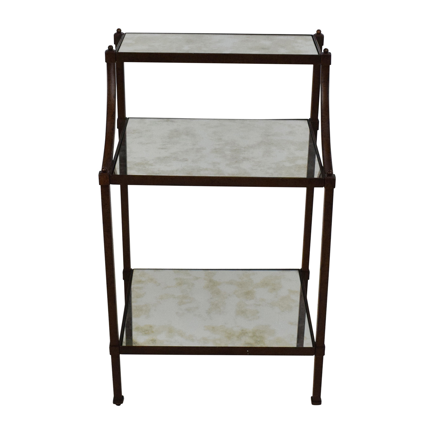 OFF Pottery Barn Pottery Barn Etagere Bedside Table Tables - Pottery barn chloe end table