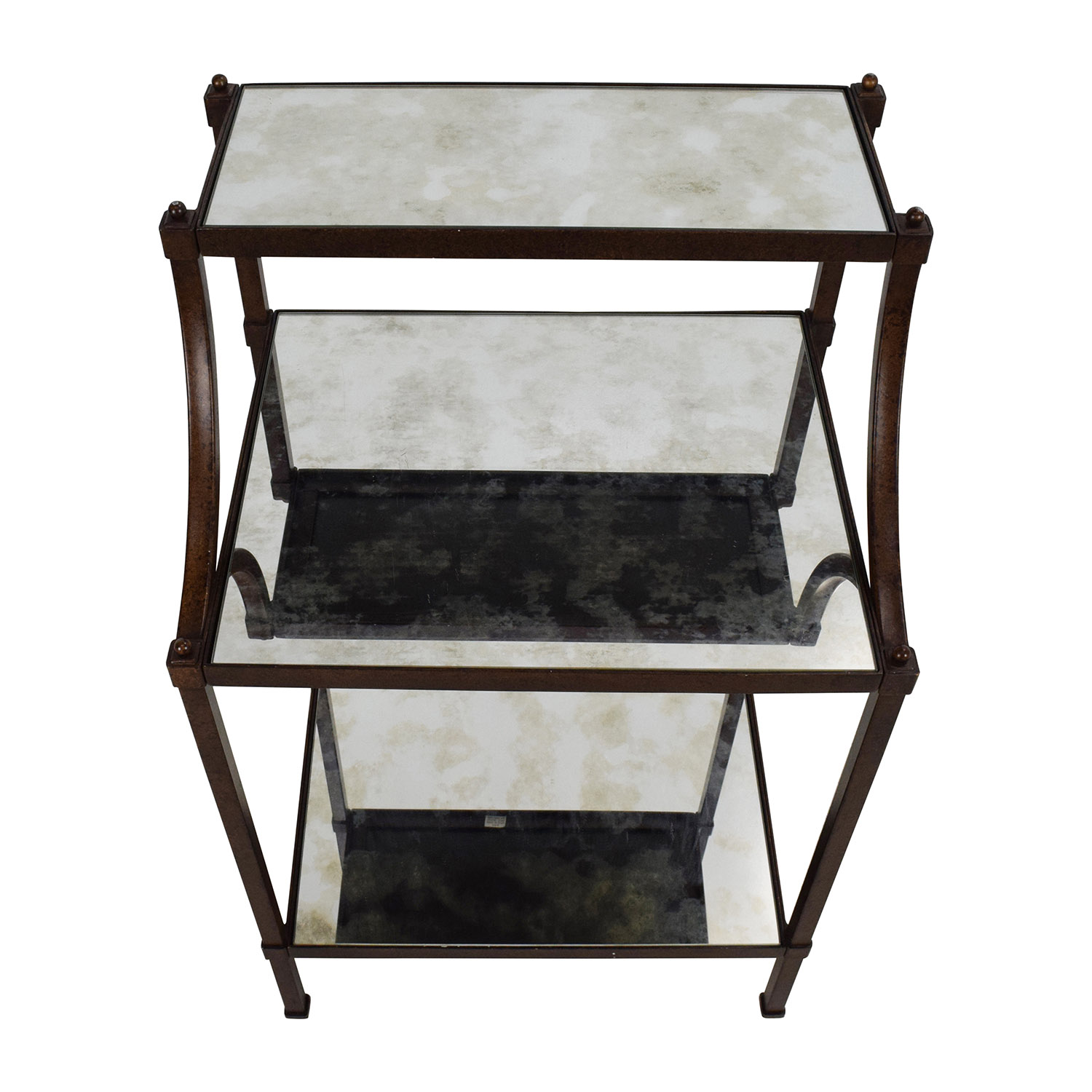 65% OFF - Pottery Barn Pottery Barn Etagere Bedside Table ...