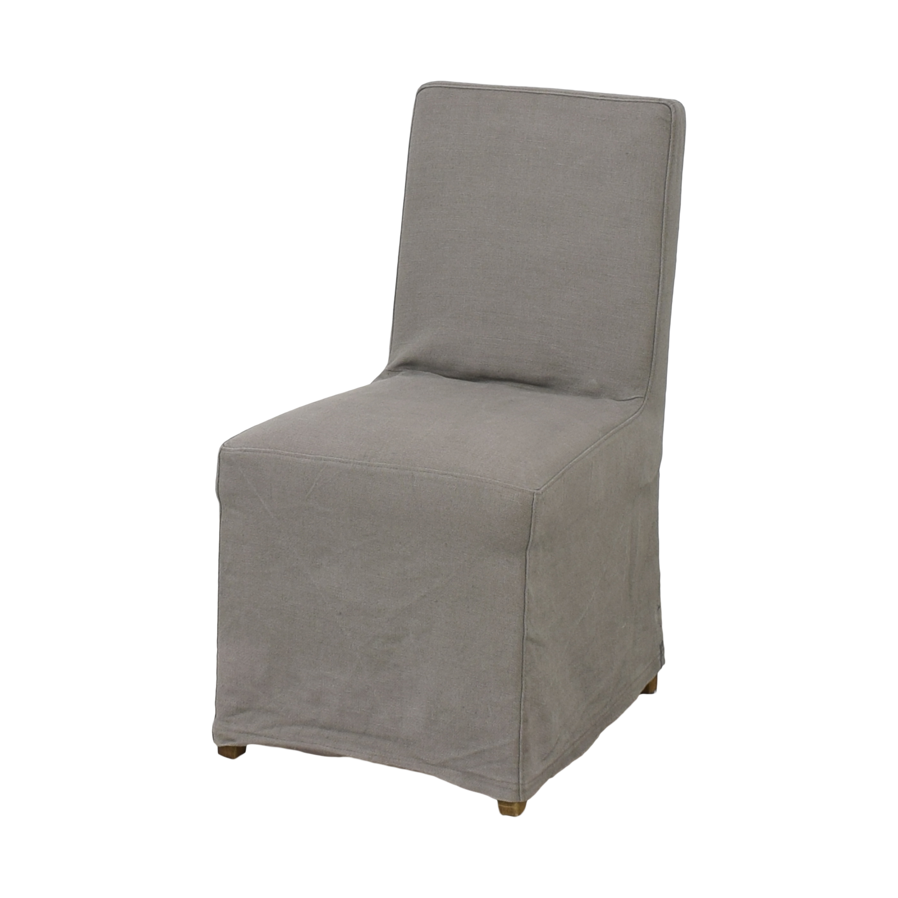 Restoration Hardware Restoration Hardware Parsons Hudson Slipcovered Side Chair used