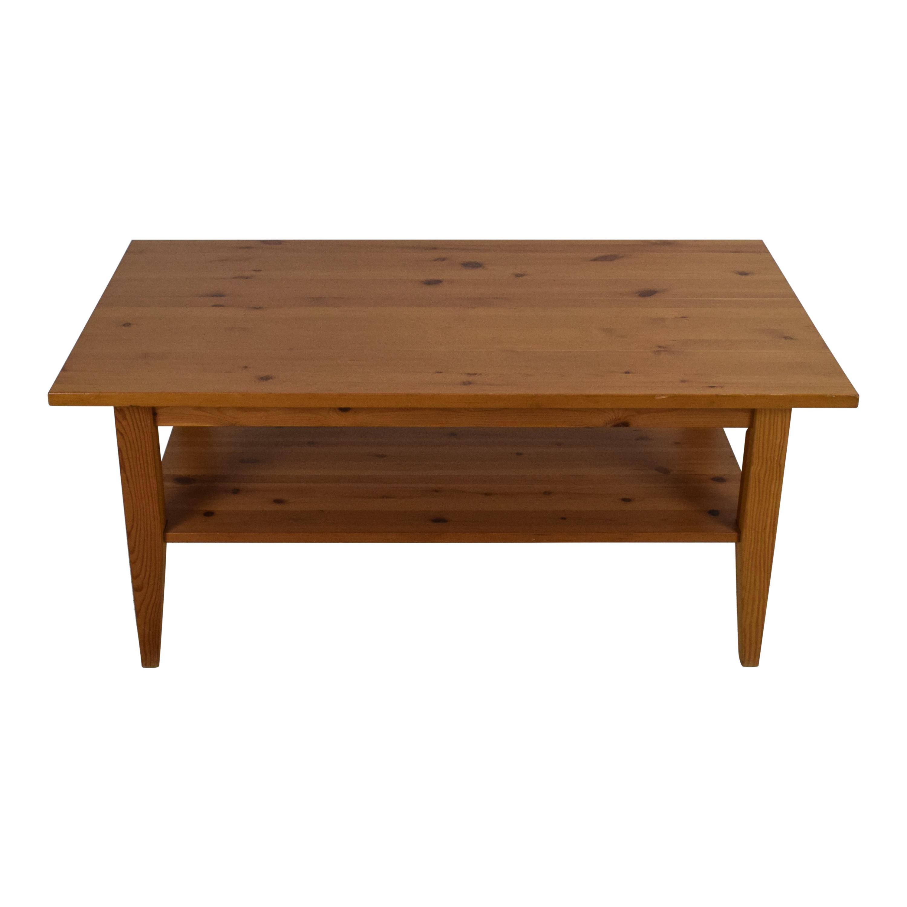 Hard Wood Living Room Table used