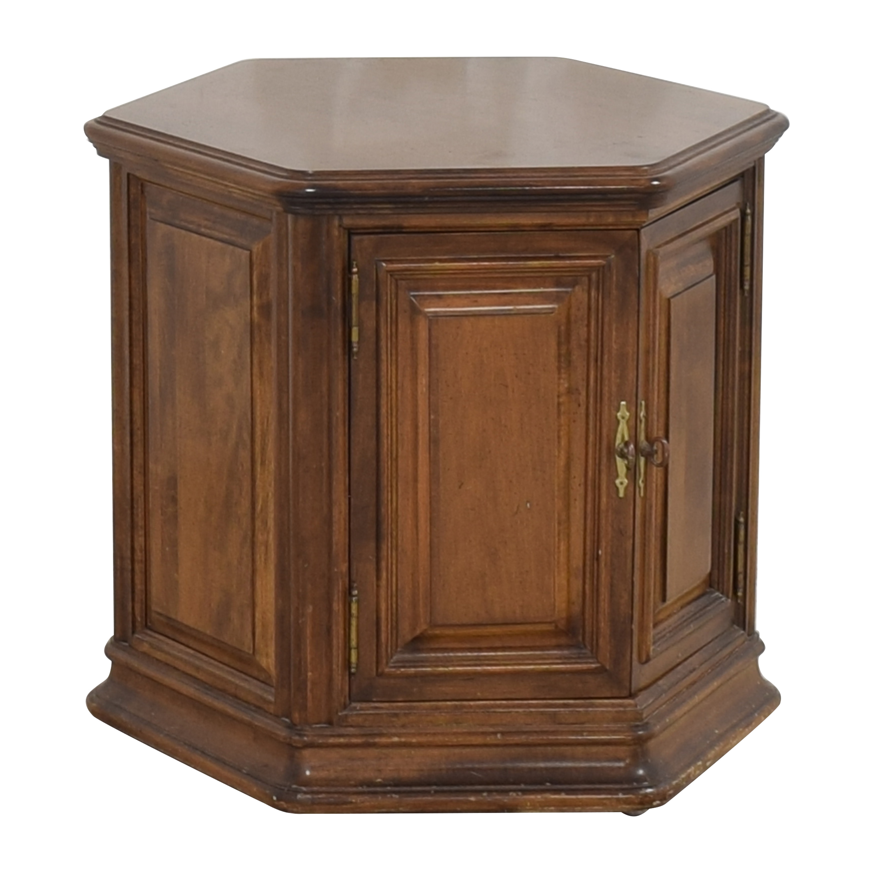 Ethan Allen Ethan Allen Accent Table with Cabinet used