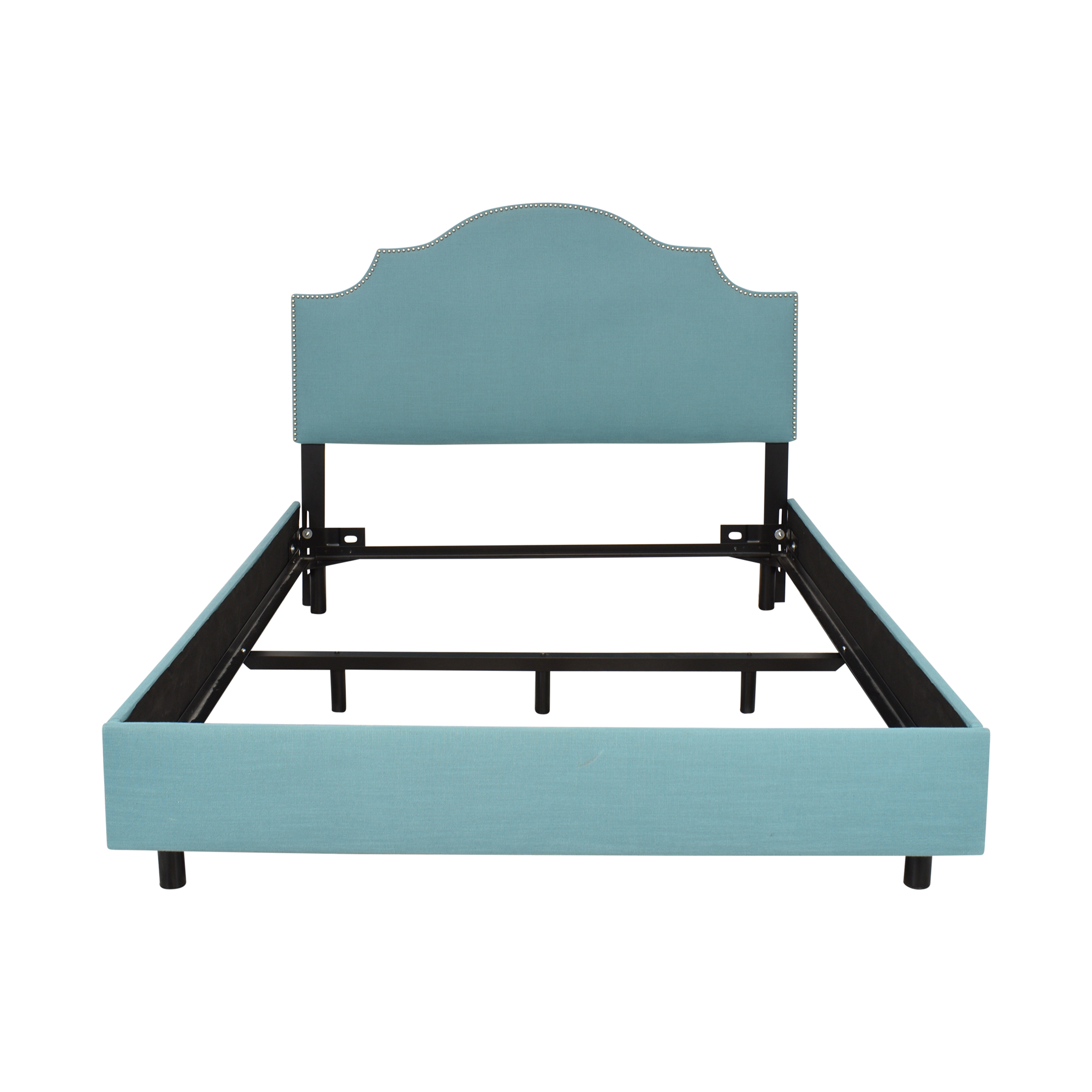 House of Hampton House of Hampton Amesbury Queen Upholstered Panel Bed pa