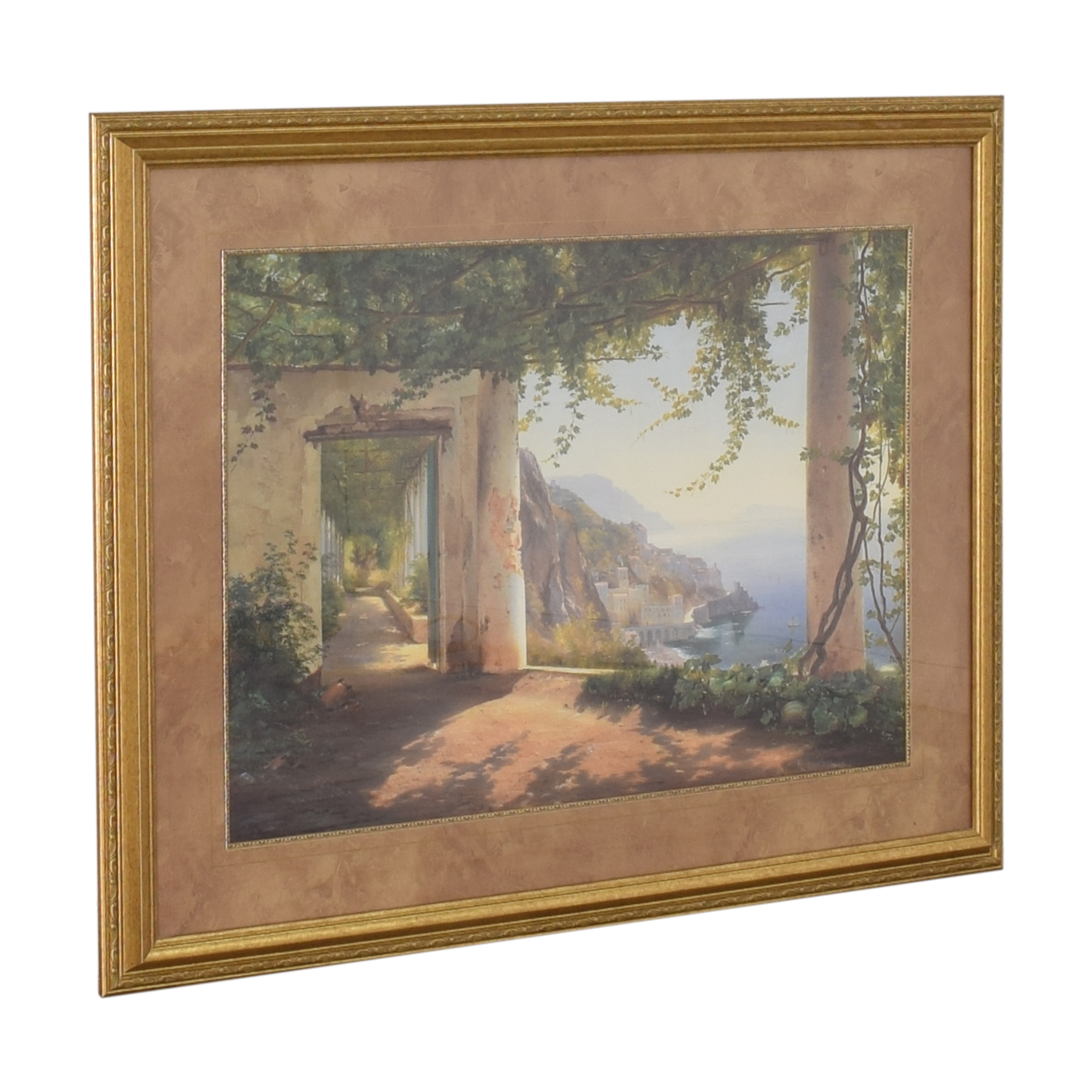 Ethan Allen Ethan Allen Amalfi Coast View Wall Art on sale