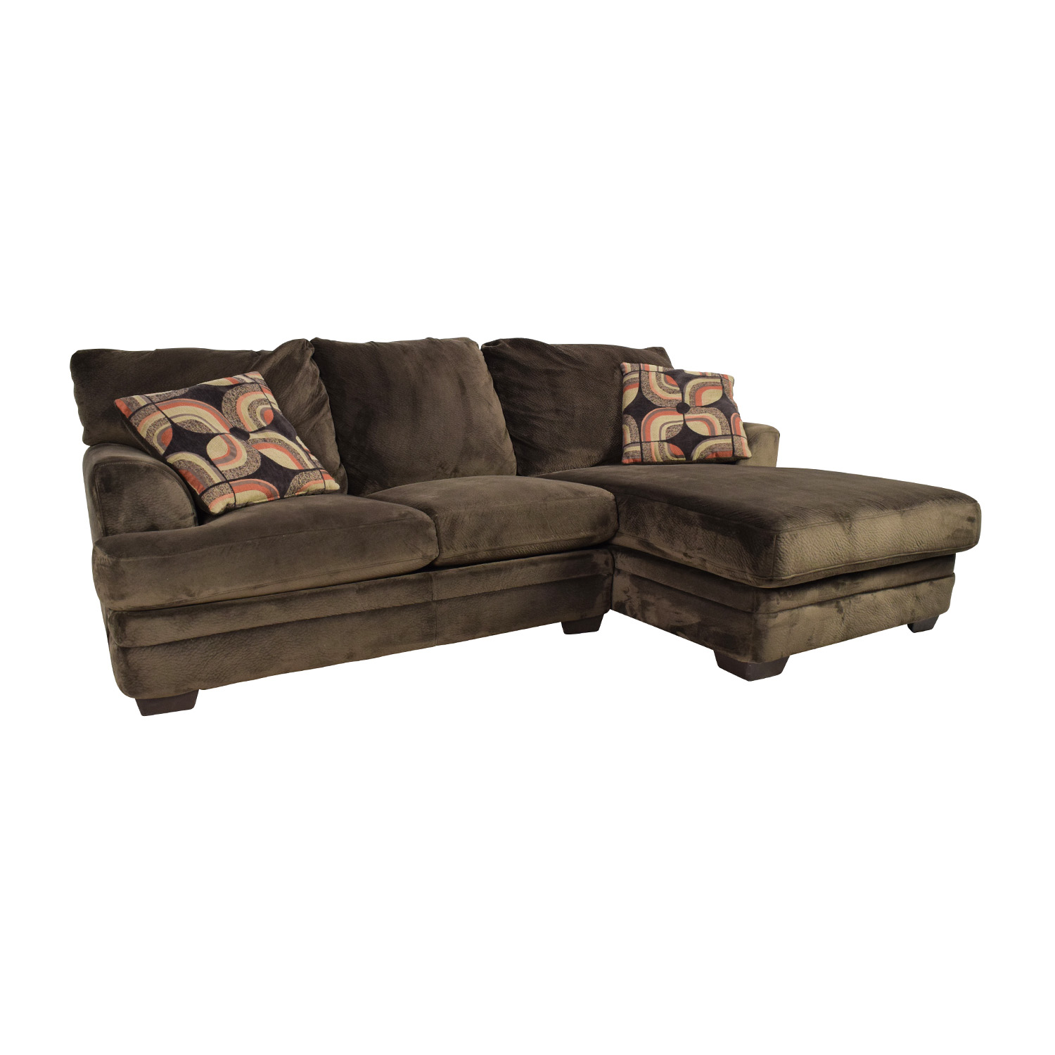 with brown kendall price storage bobs ii sofa s off bob furniture
