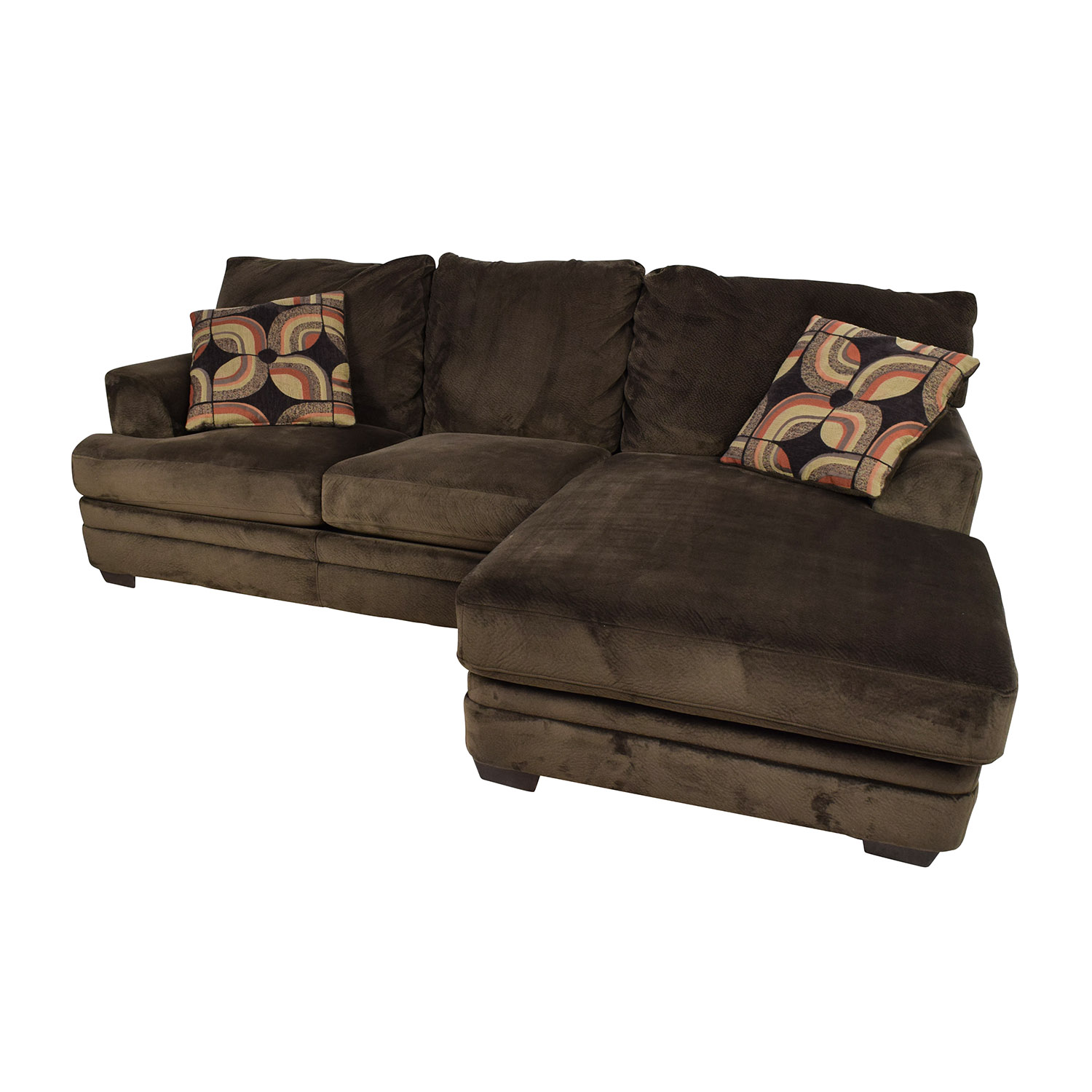 Remarkable 43 Off Bobs Discount Furniture Bobs Furniture Charisma Sectional Sofa Sofas Dailytribune Chair Design For Home Dailytribuneorg