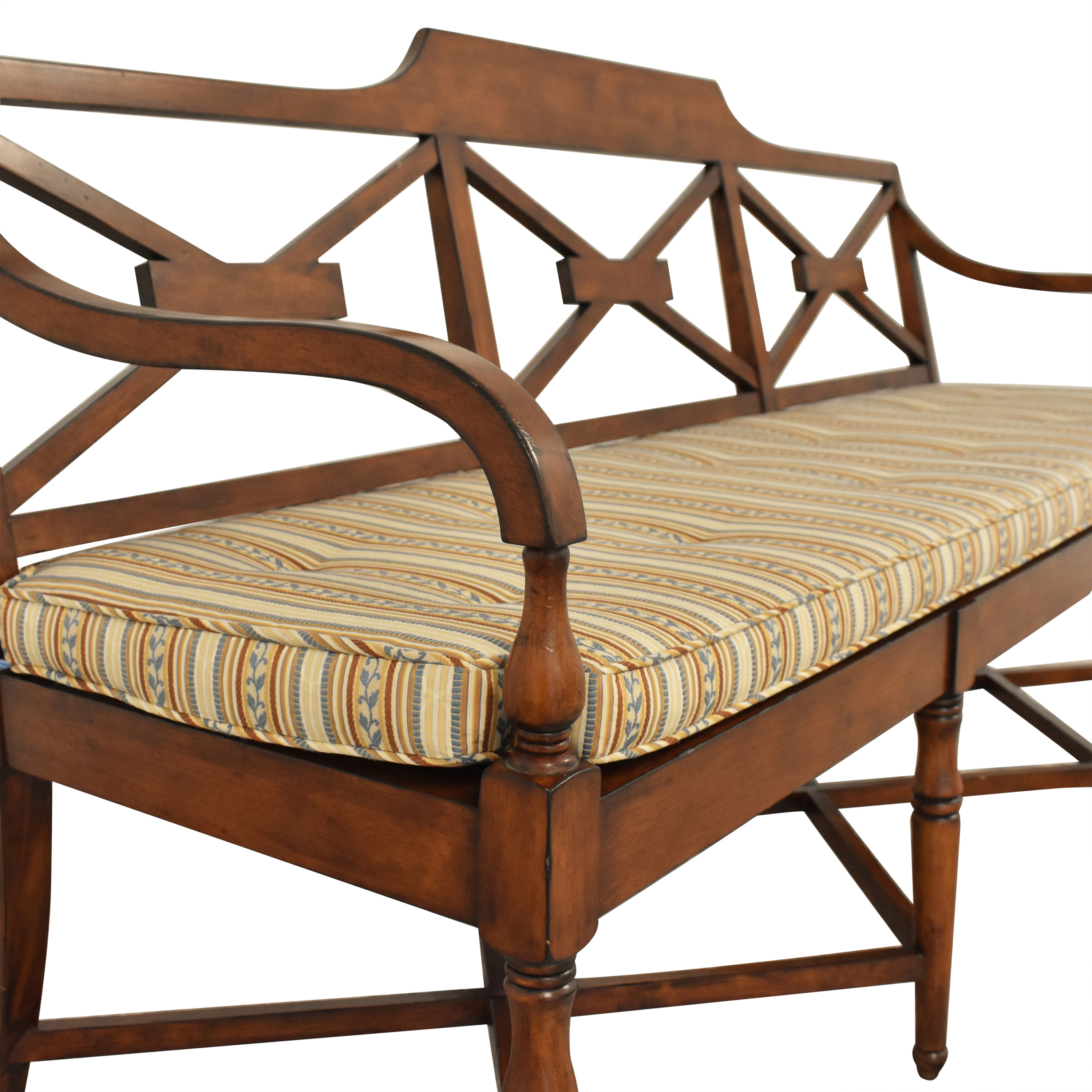 shop Panel-Backed Settee  Chairs