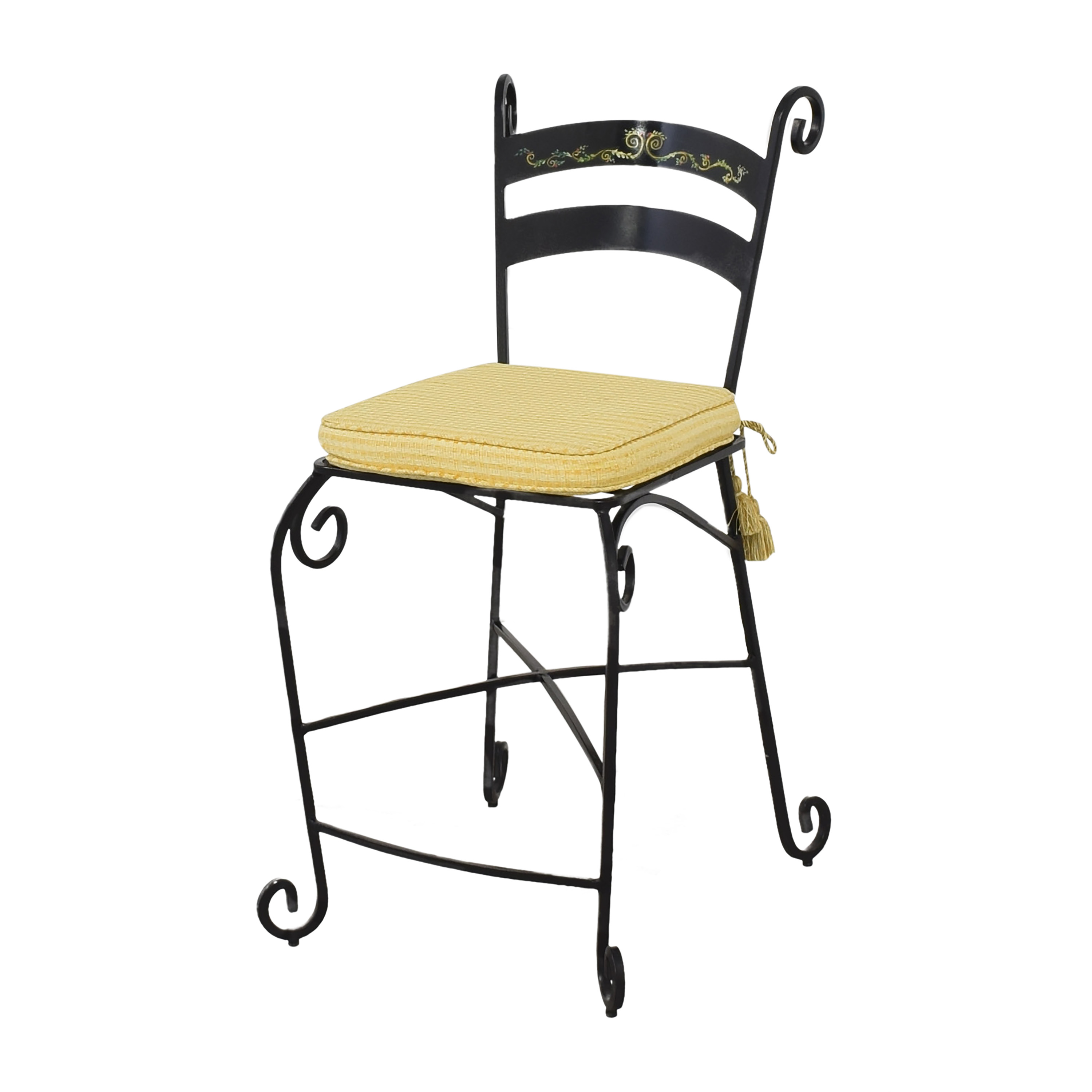 Wrought Frame Bar Stools used
