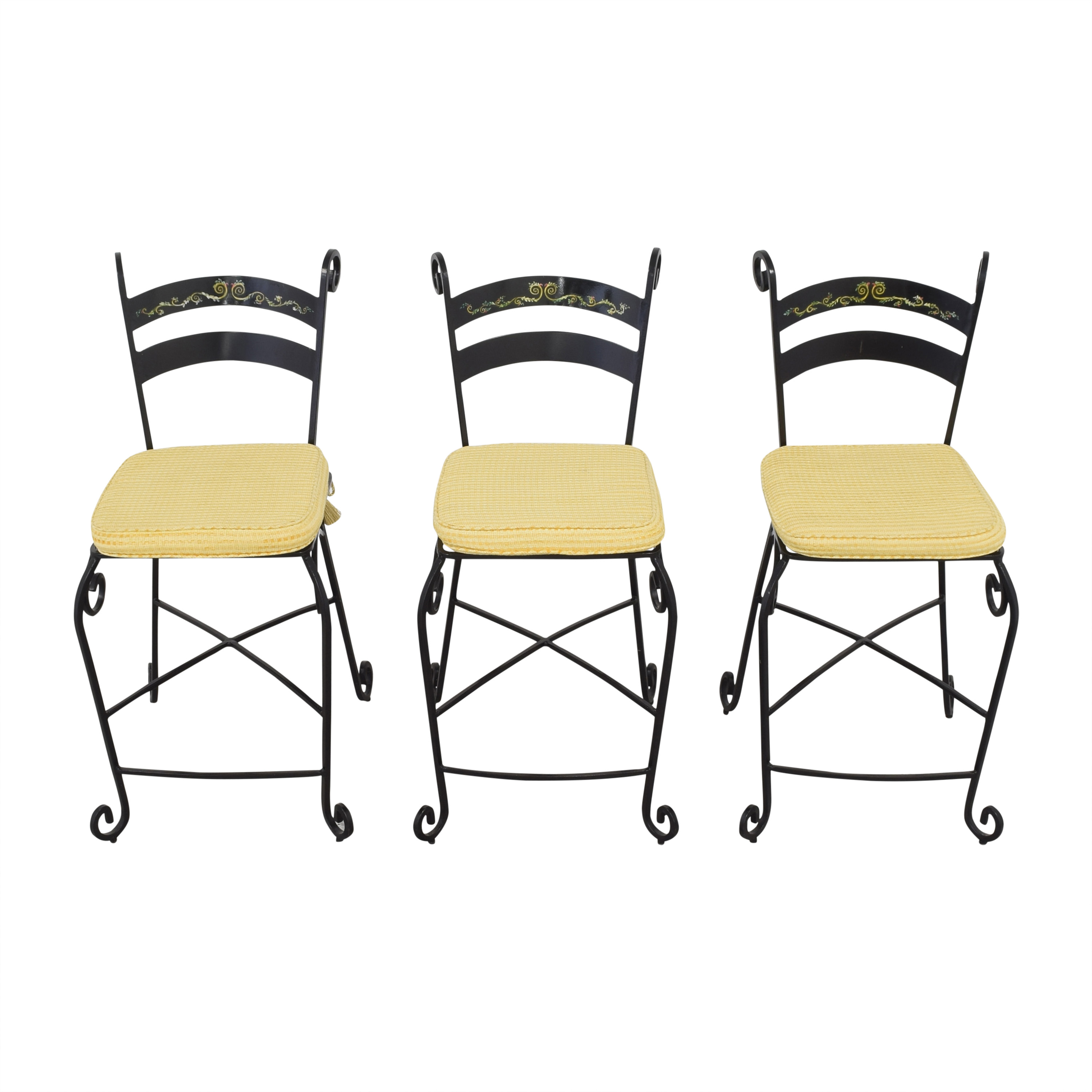buy Wrought Frame Bar Stools  Chairs