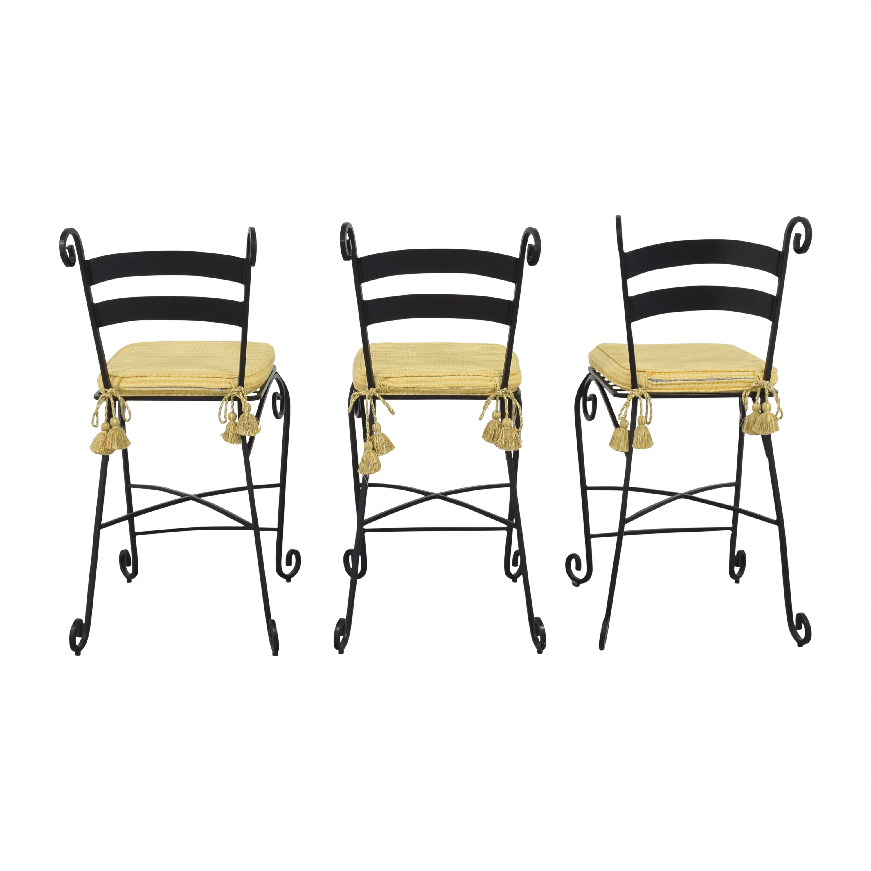 buy  Wrought Frame Bar Stools online