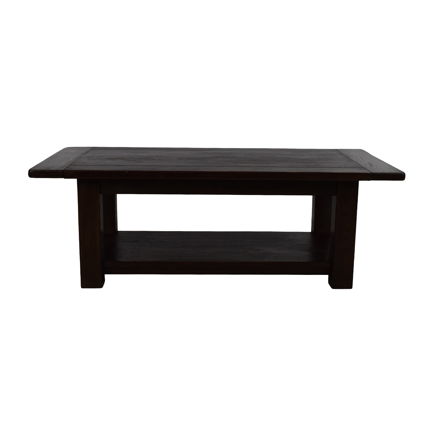61% OFF Workbench Workbench Mid Century Wood Coffee Table w