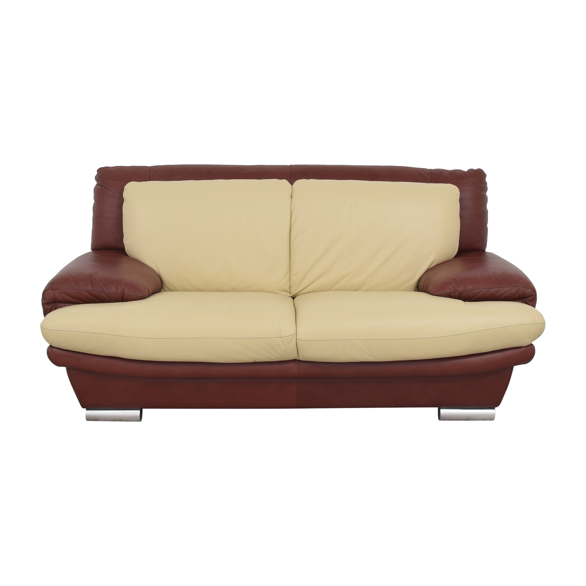 buy Two Tone Contemporary Sofa  Sofas