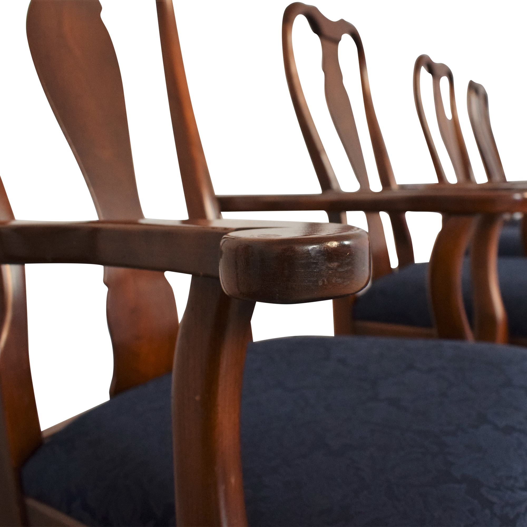 buy Hitchcock Queen Anne Dining Chairs Hitchcock