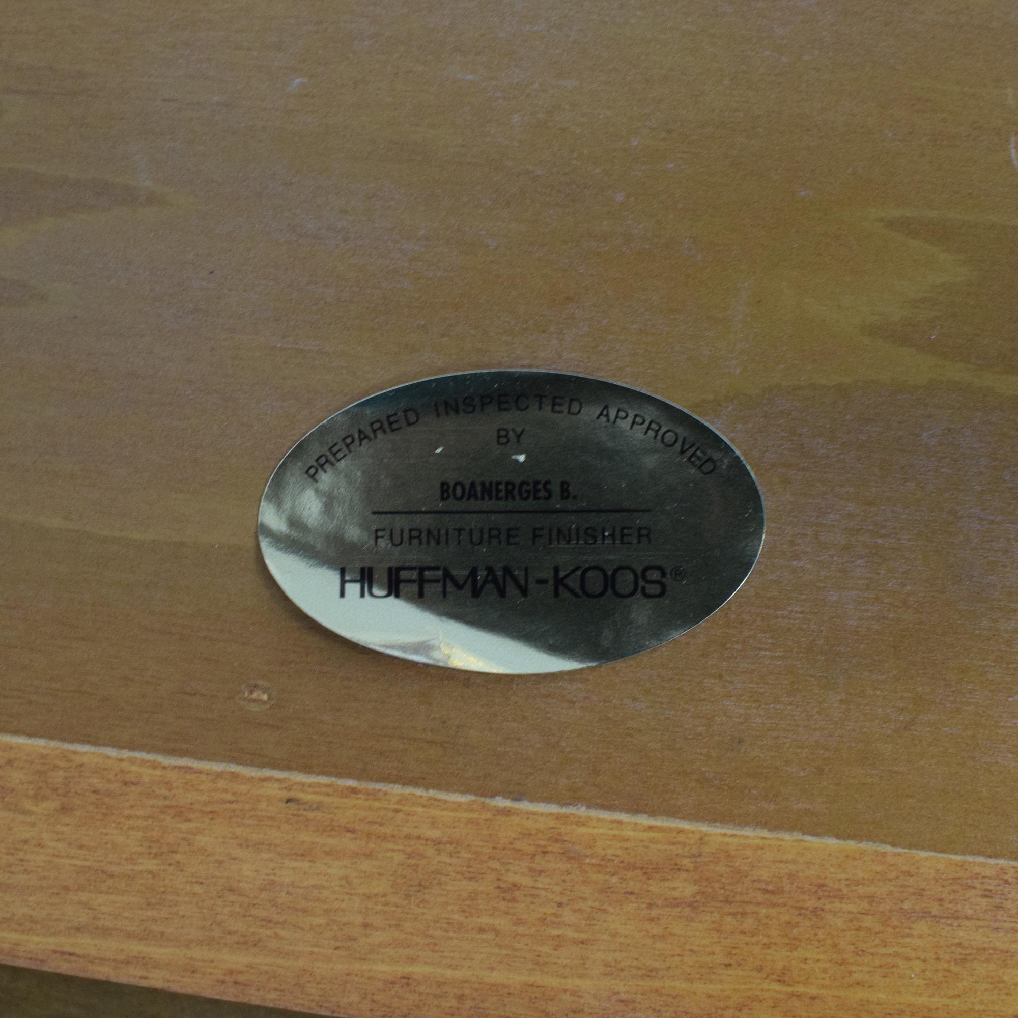 shop Huffman Koos Extendable Dining Table Huffman Koos