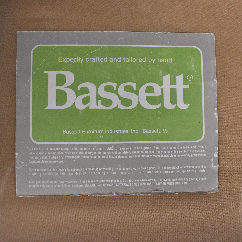 shop Bassett Furniture Bassett Roll Arm L-Shaped Sectional Sofa online