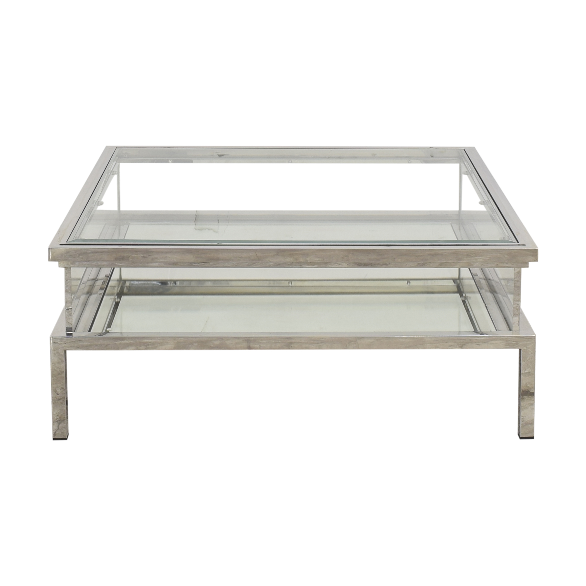 buy Eicholtz Harvey Square Sliding Coffee Table Eichholtz