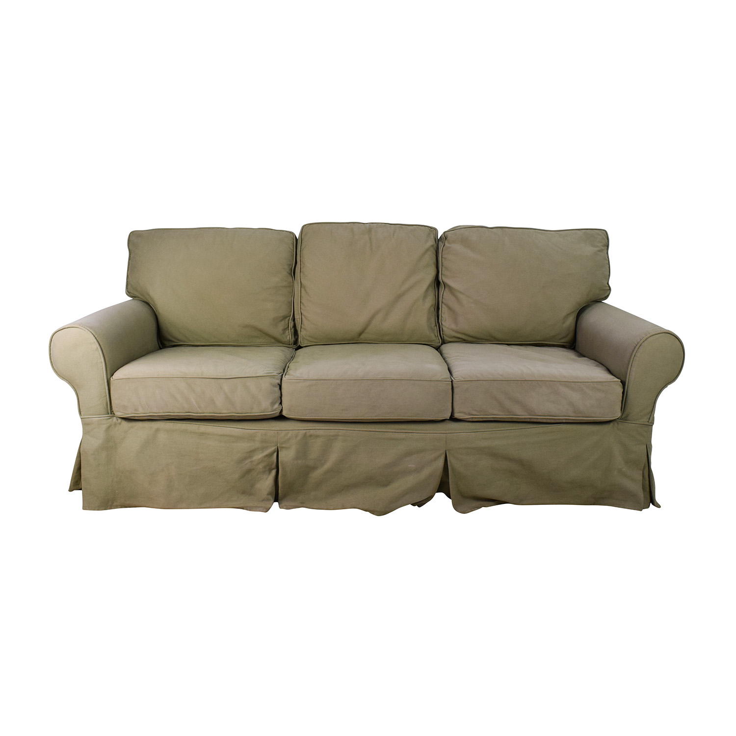 Pottery Barn Sage Couch