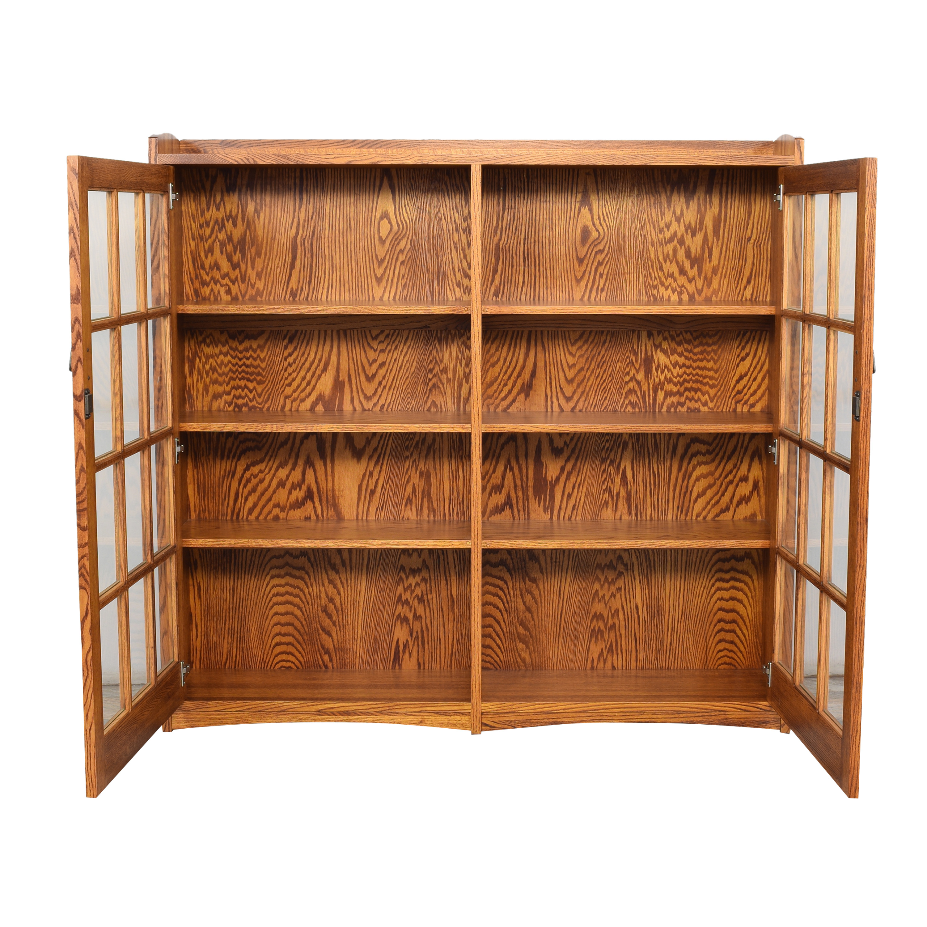 Restoration Hardware Mission Double Barrister Bookcase / Bookcases & Shelving