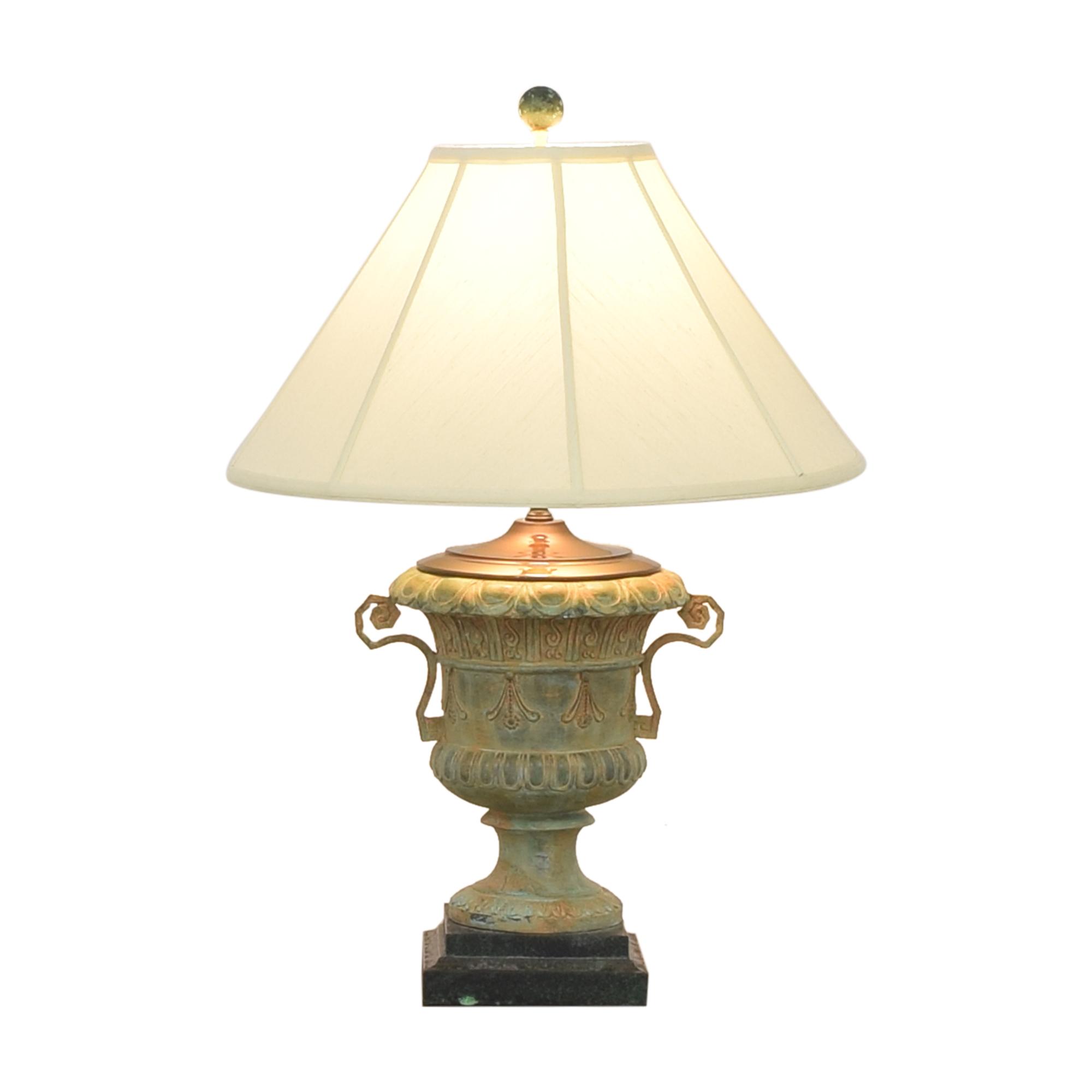 Canterbury Urn Style Table Lamp Decor