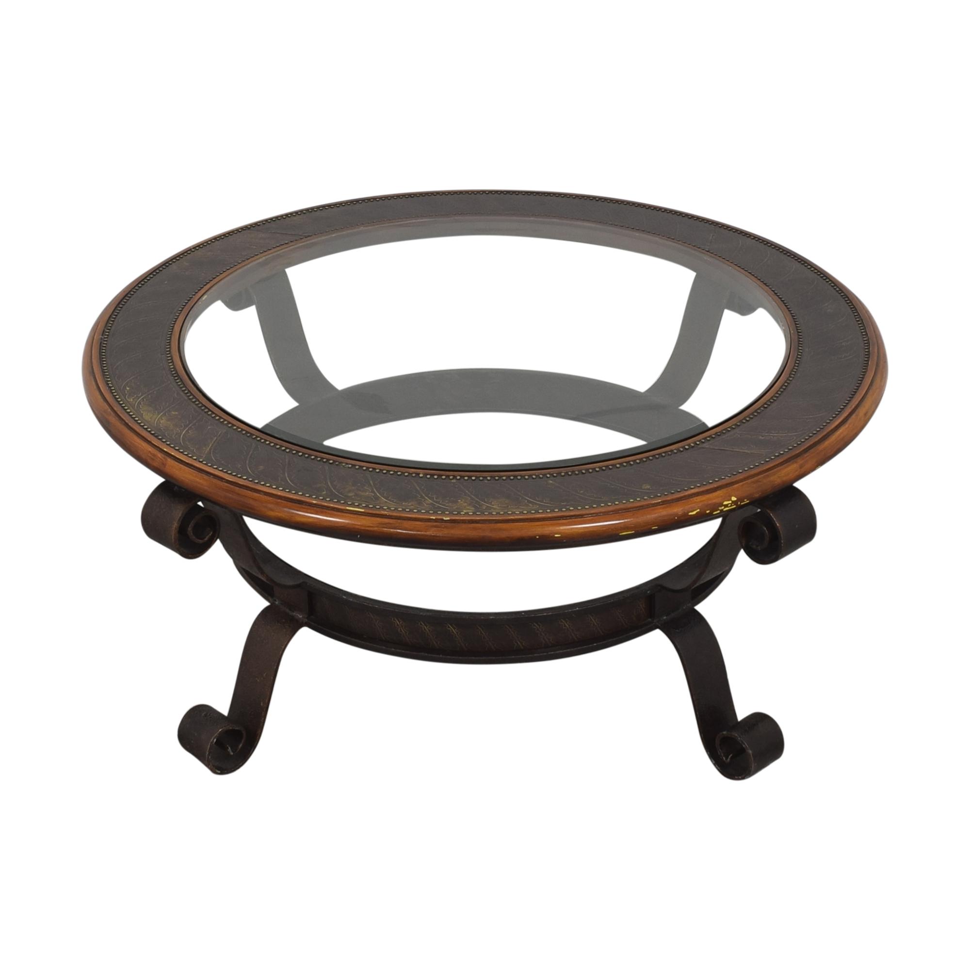 Maitland-Smith Maitland Smith Round Coffee Table used