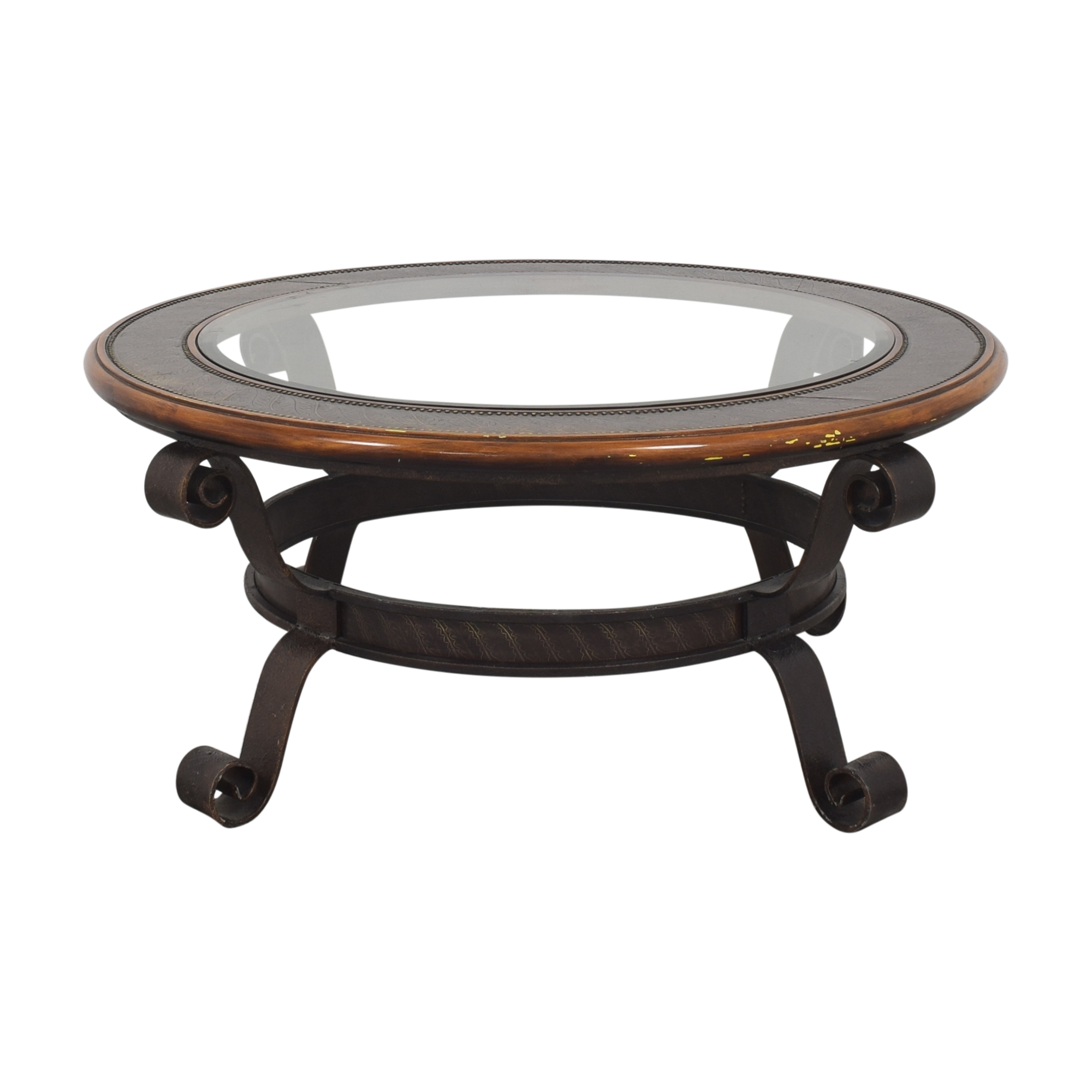 Maitland Smith Round Coffee Table sale
