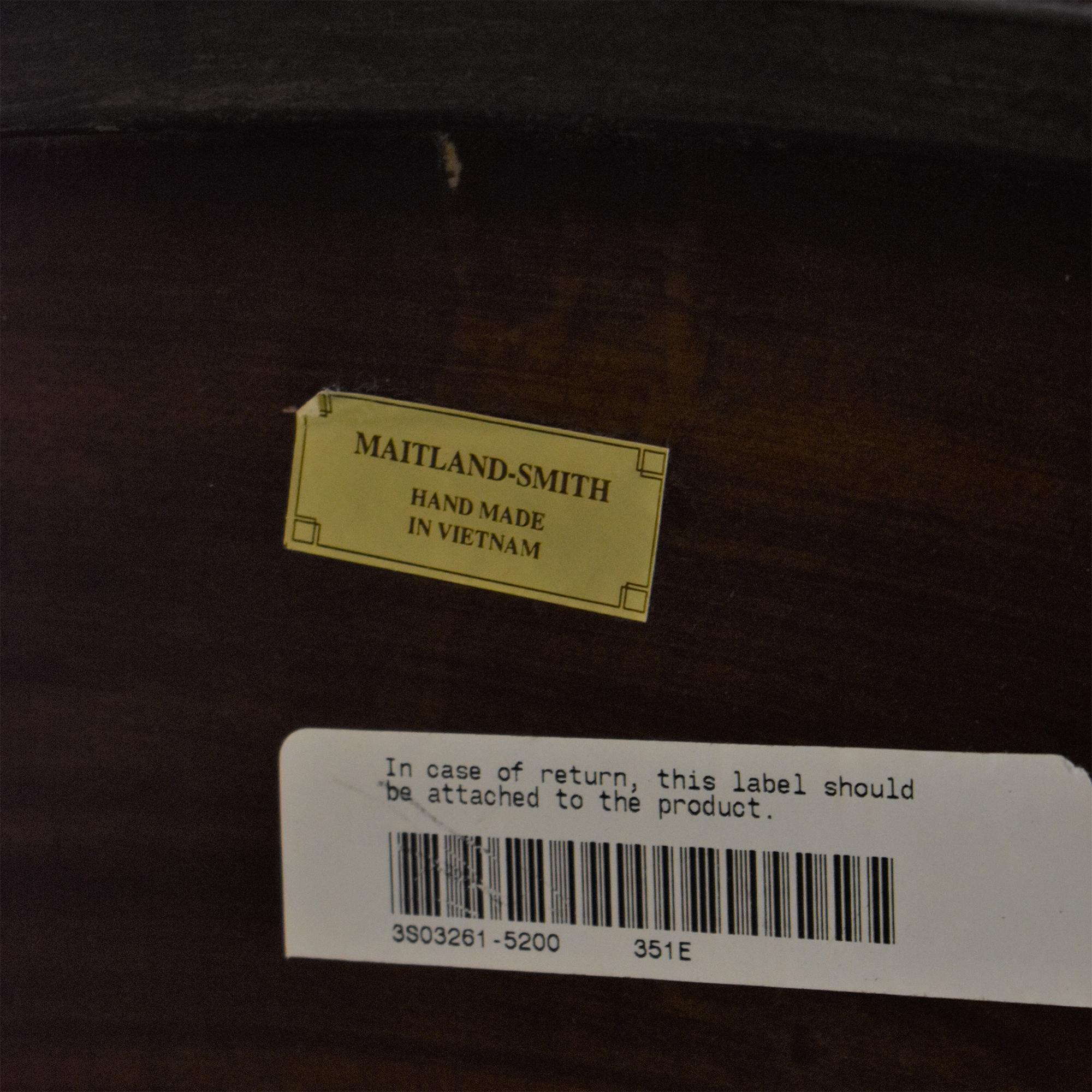 Maitland Smith Round Coffee Table sale