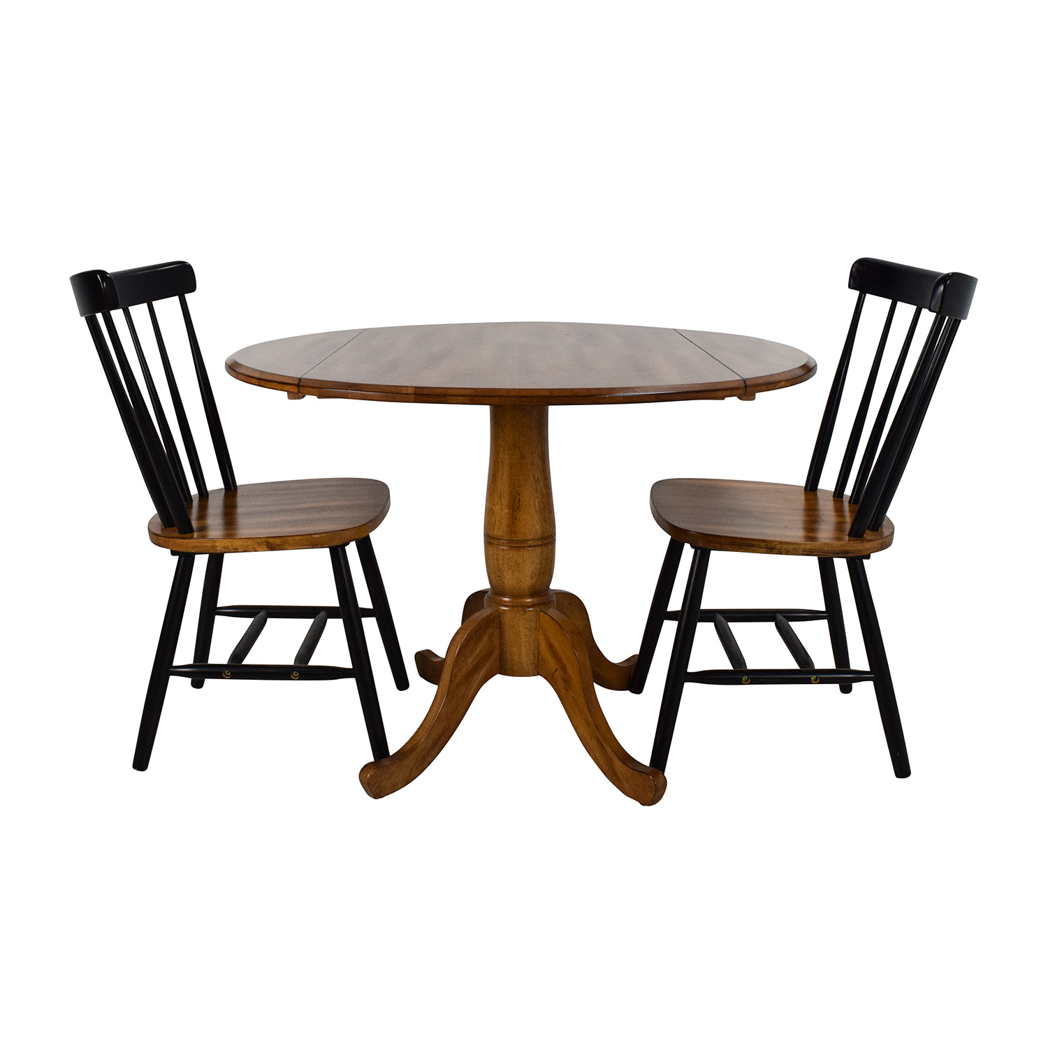 72% OFF - Raymour & Flanigan Raymour & Flanigan Foldable Table Set ...