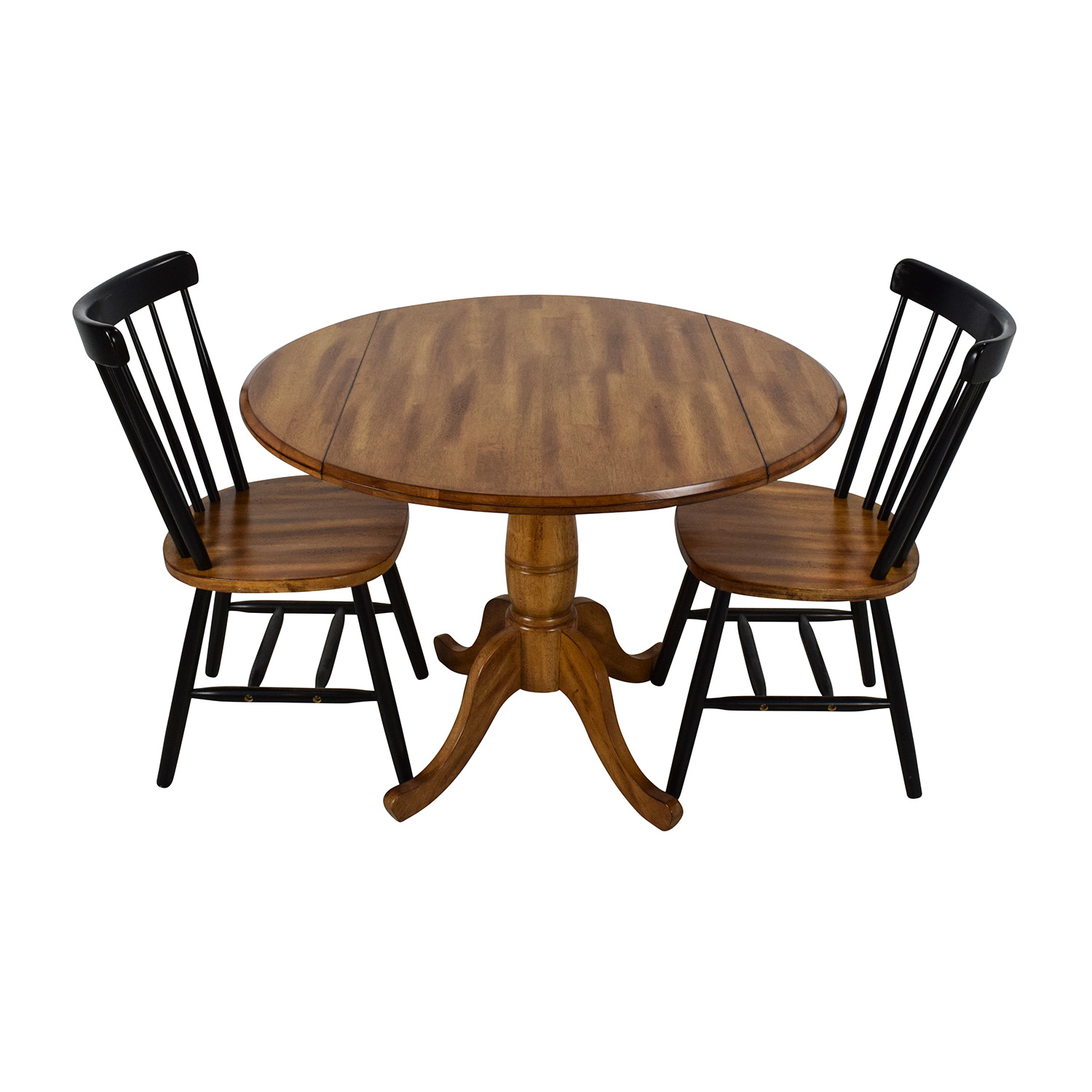OFF Raymour & Flanigan Raymour & Flanigan Foldable Table Set