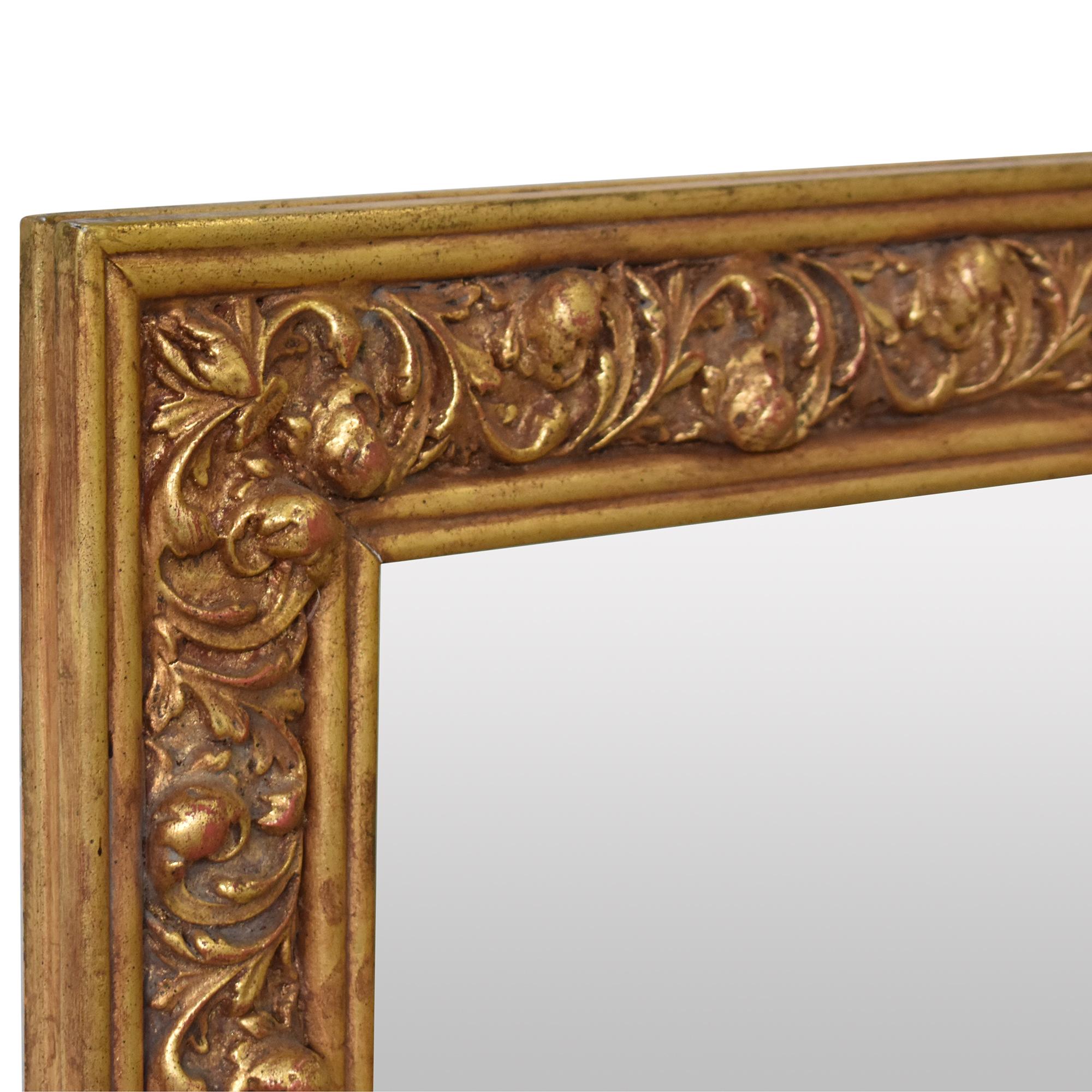 Friedman Brothers Friedman Brothers Decorative Arts Rectangular Wall Mirror Mirrors