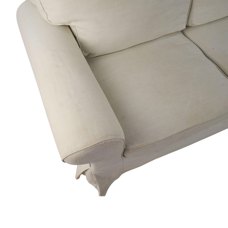 74 Off Ikea Ikea Ektorp Slipcovered Loveseat Sofas