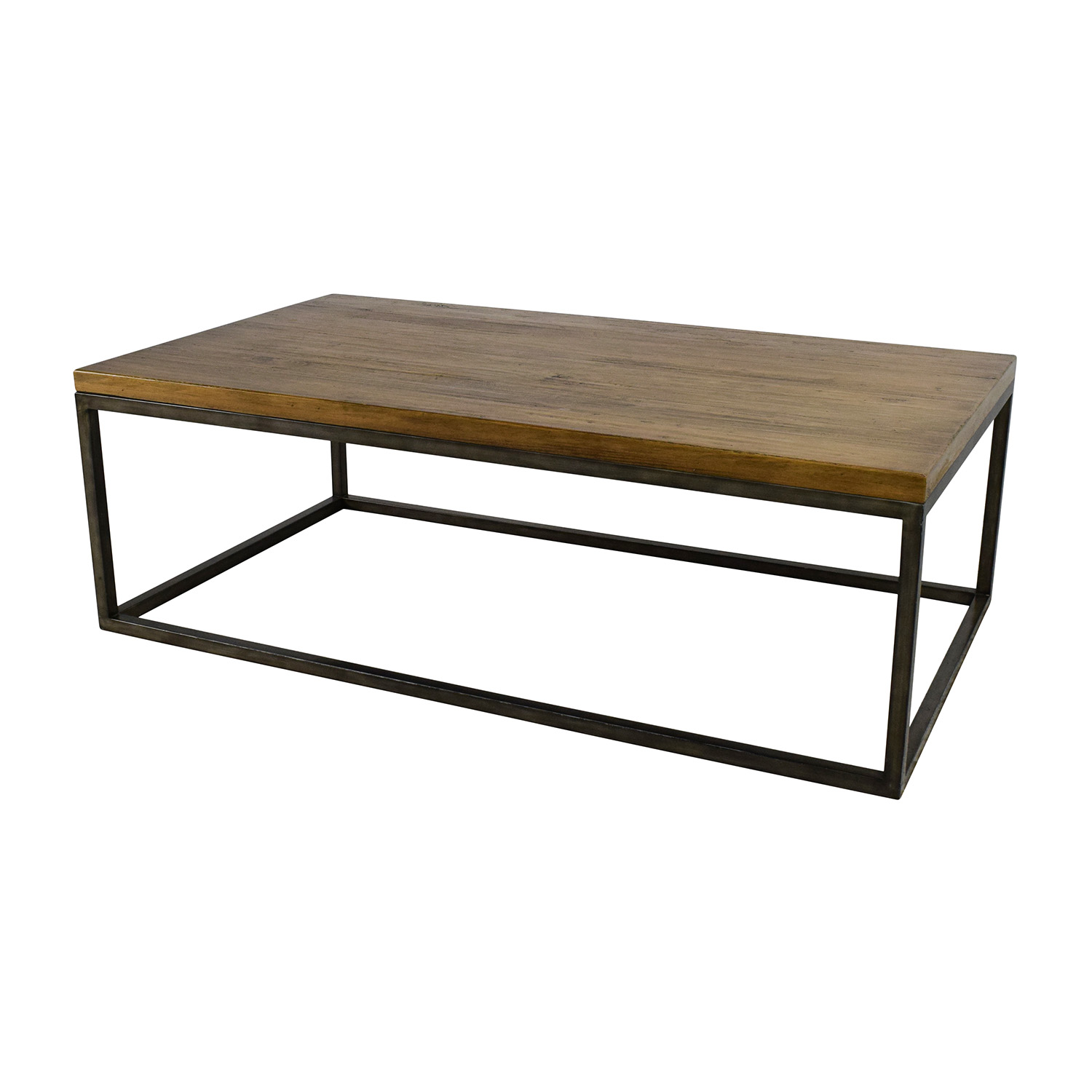... West Elm Box Frame Coffee Table sale ... - 51% OFF - West Elm West Elm Box Frame Coffee Table / Tables