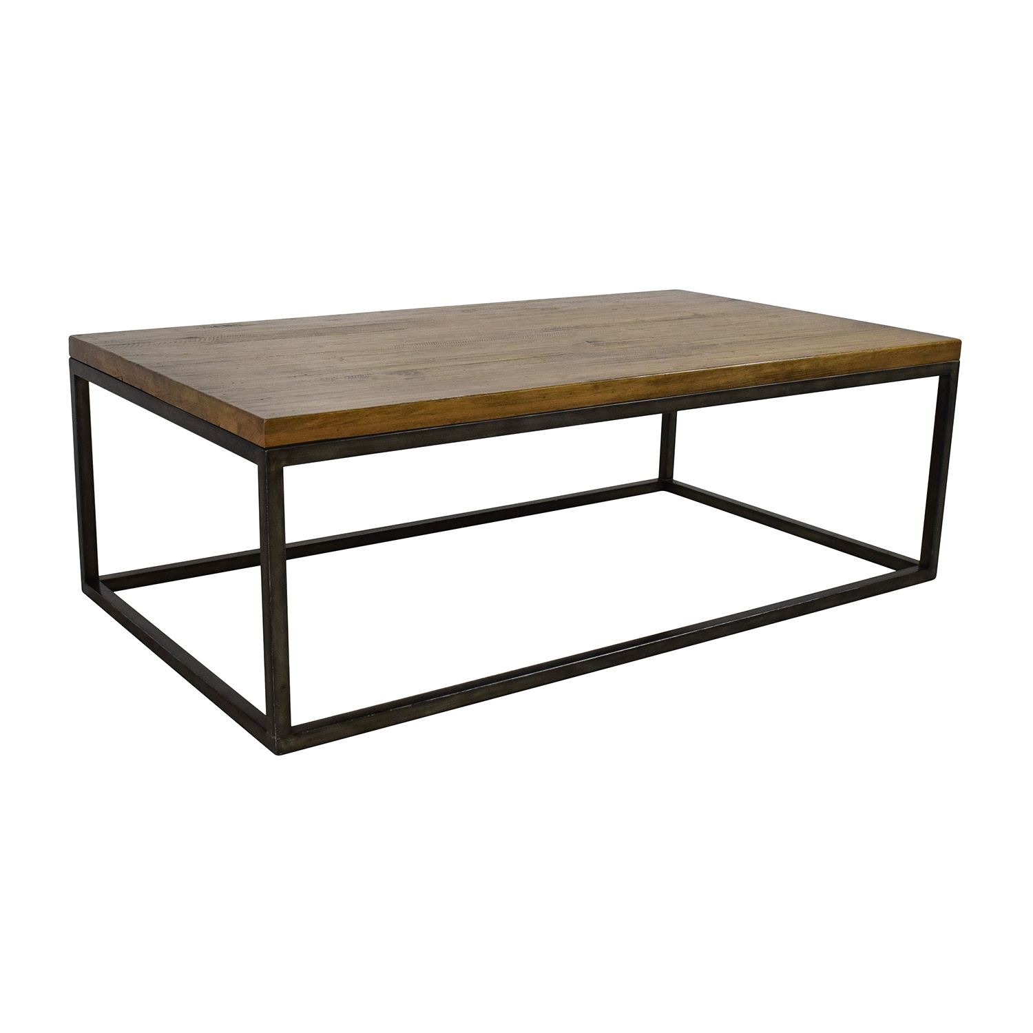 51 off west elm west elm box frame coffee table tables for West elm geometric coffee table