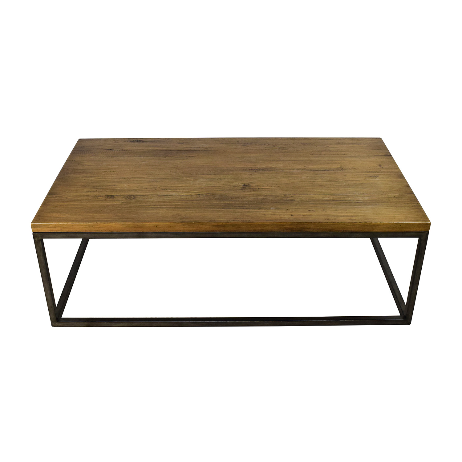 51% OFF West Elm West Elm Box Frame Coffee Table Tables