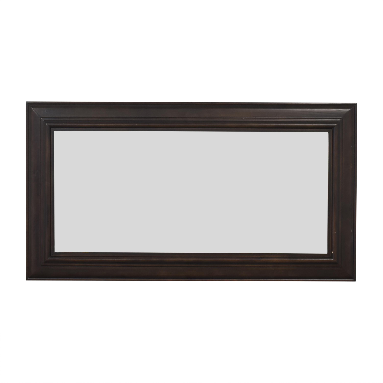 Crate & Barrel Crate & Barrel Framed Wall Mirror Decor