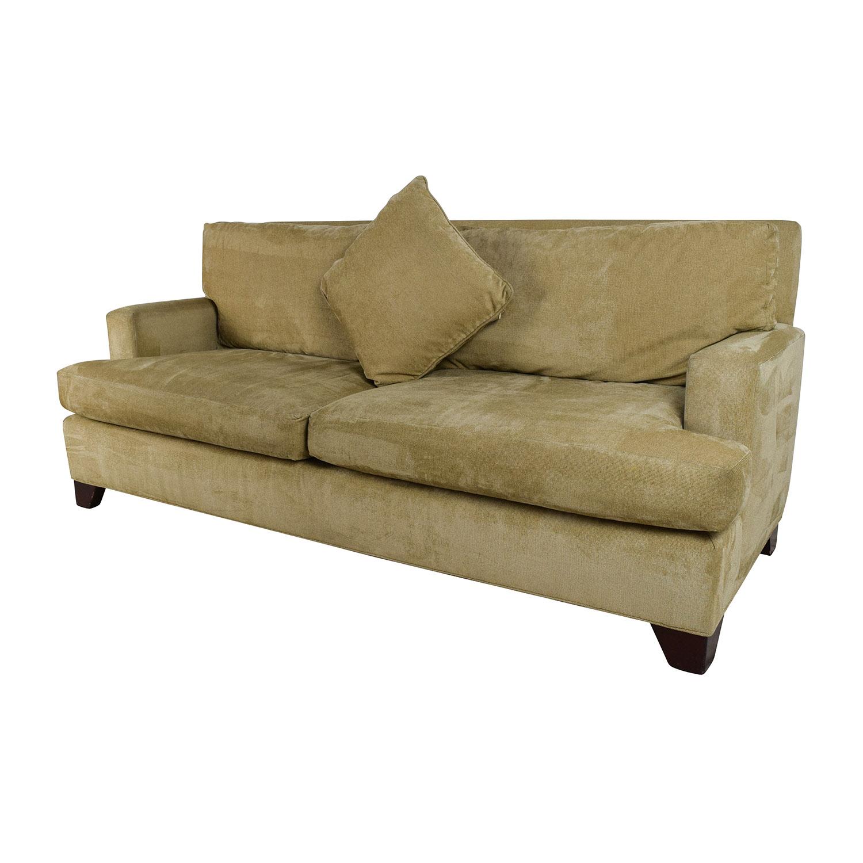 ... Baker Furniture Baker Furniture Track Arm Sofa Classic Sofas ...