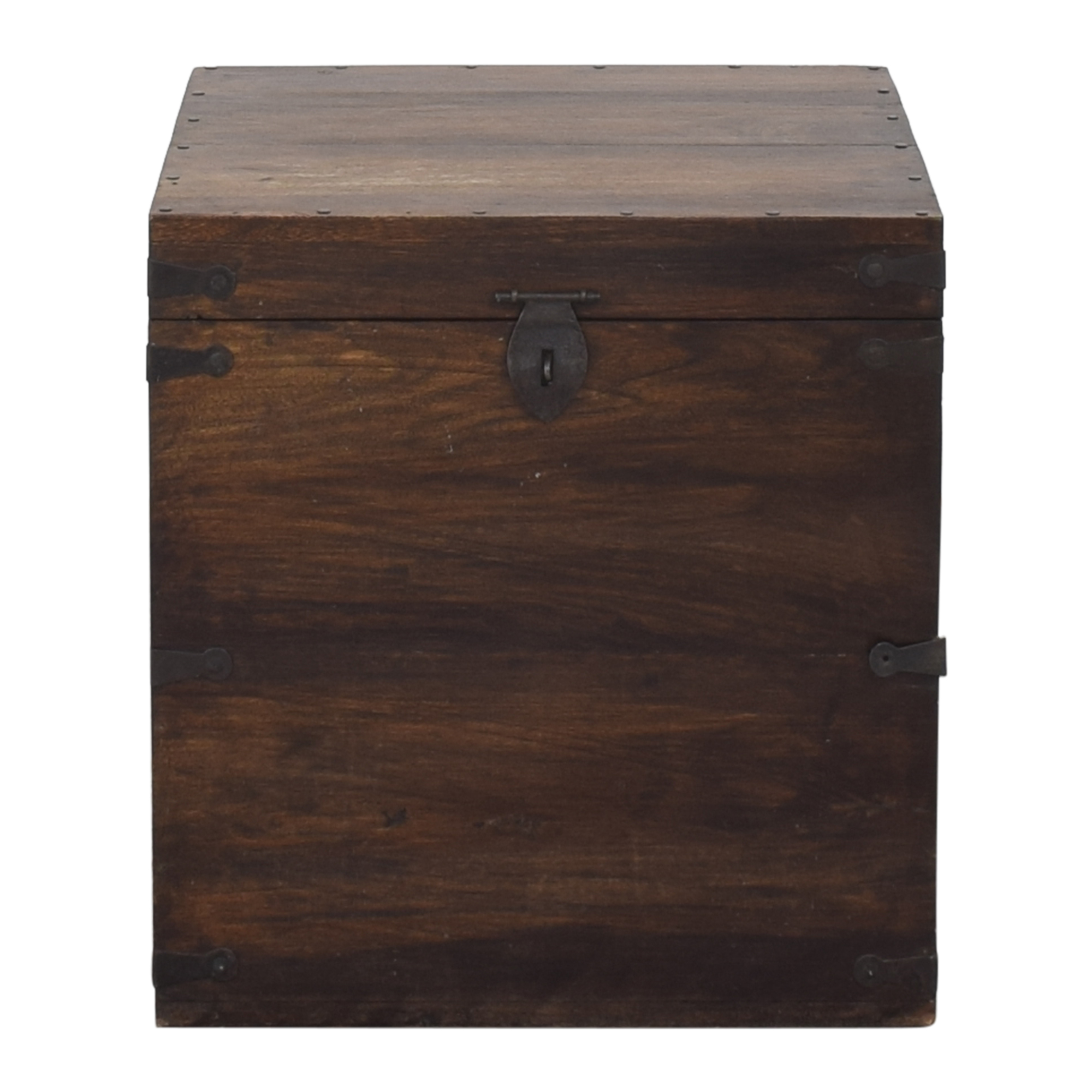Pottery Barn Pottery Barn Wooden Box Trunk for sale