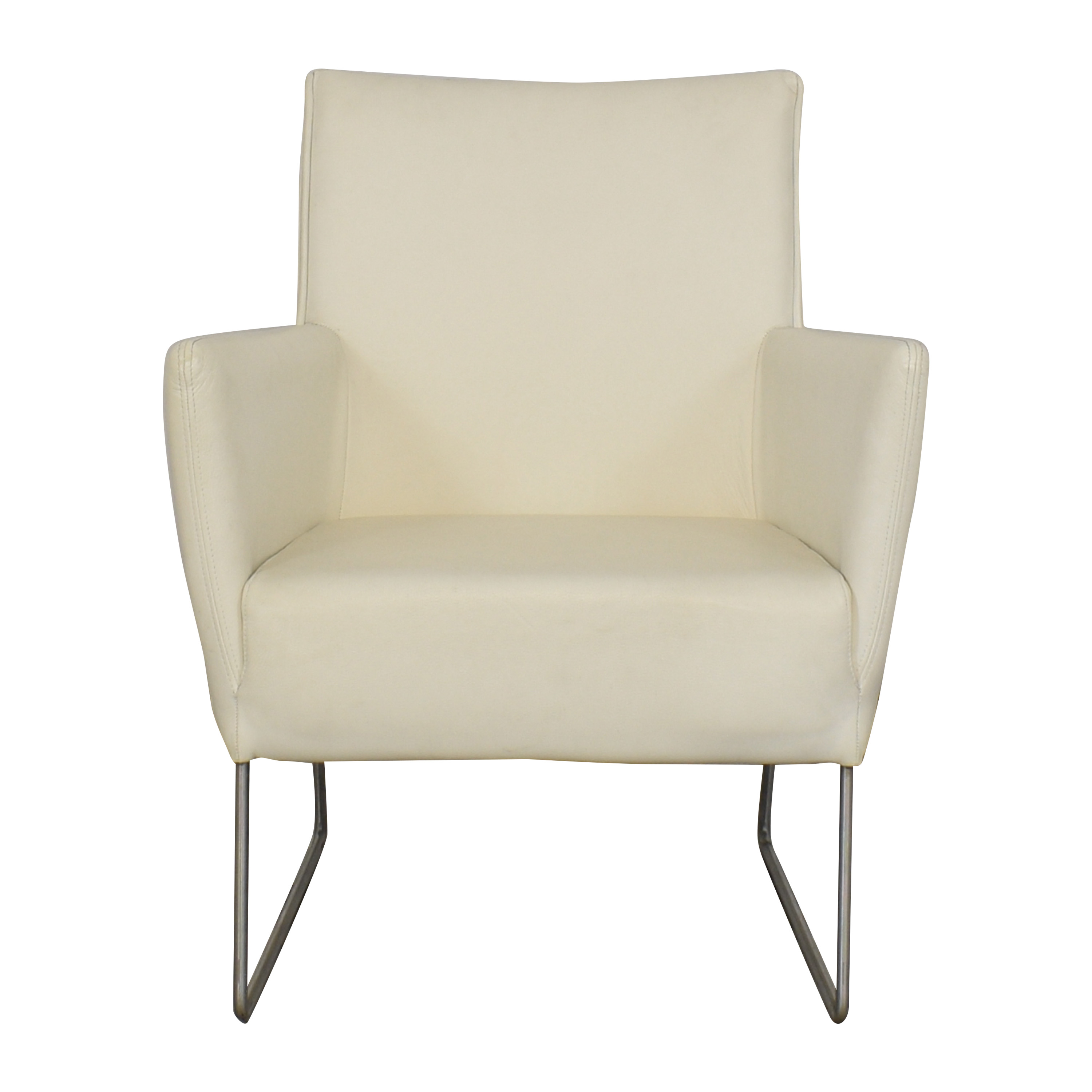 White Modern Arm Chair used